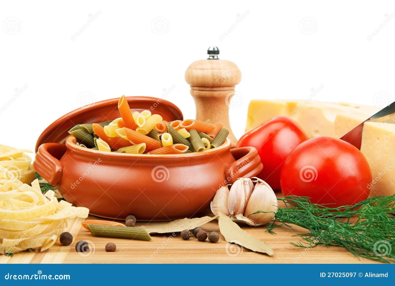 Utensílios da massa e da cozinha