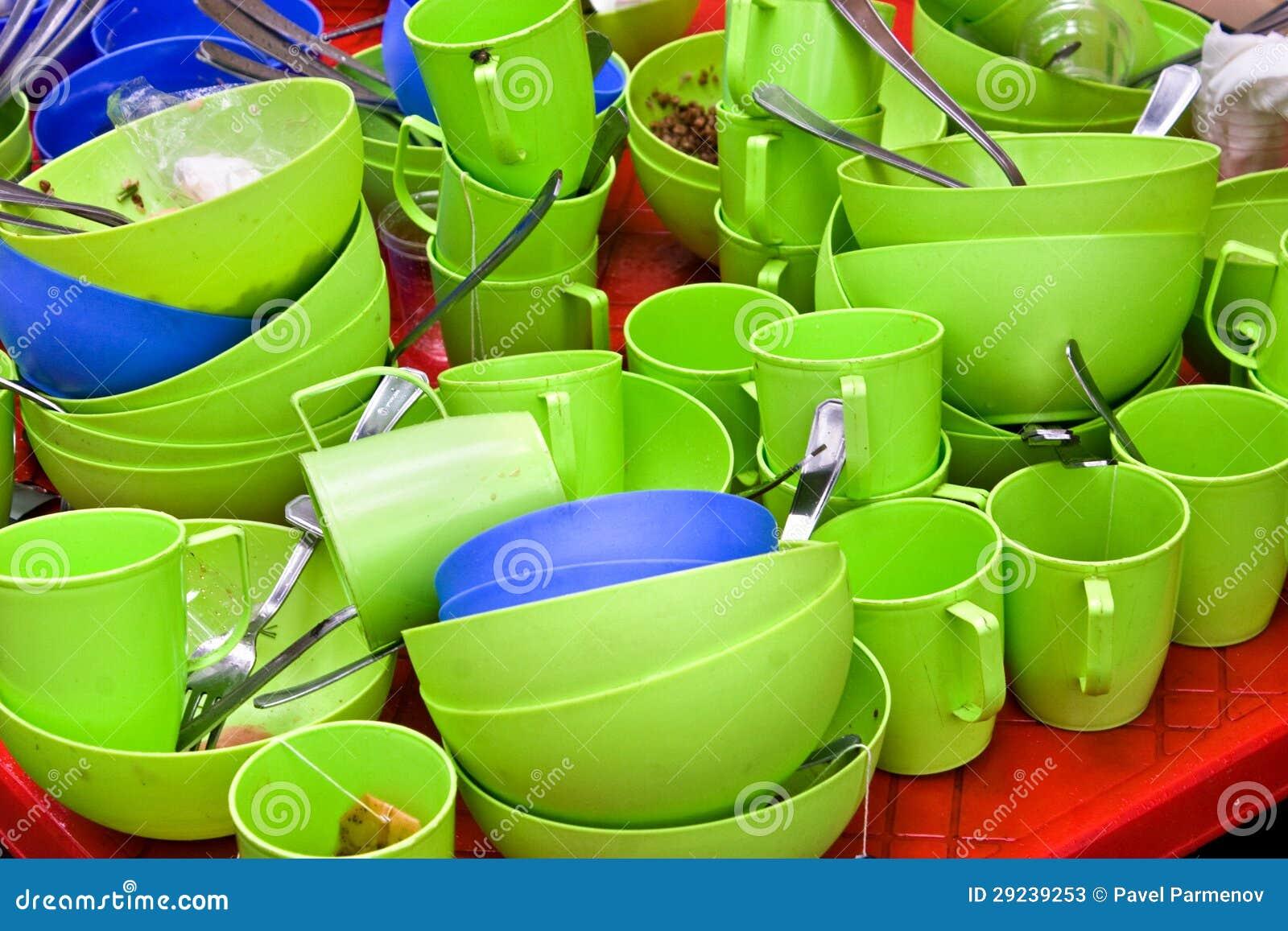 Download Utensílios de mesa sujos imagem de stock. Imagem de cozinha - 29239253