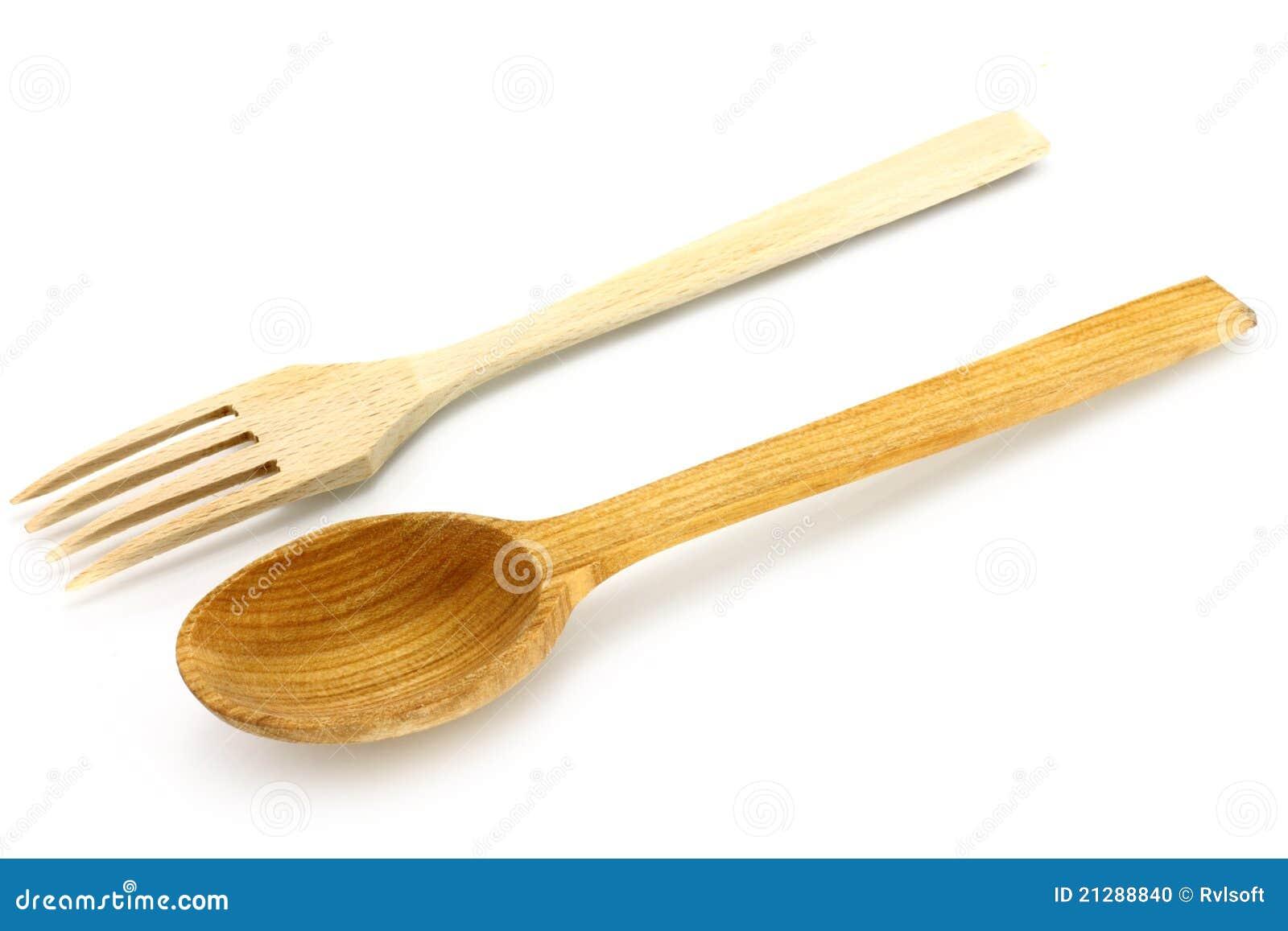 Utensilios de cocina de madera foto de archivo imagen for Cocina utensilios