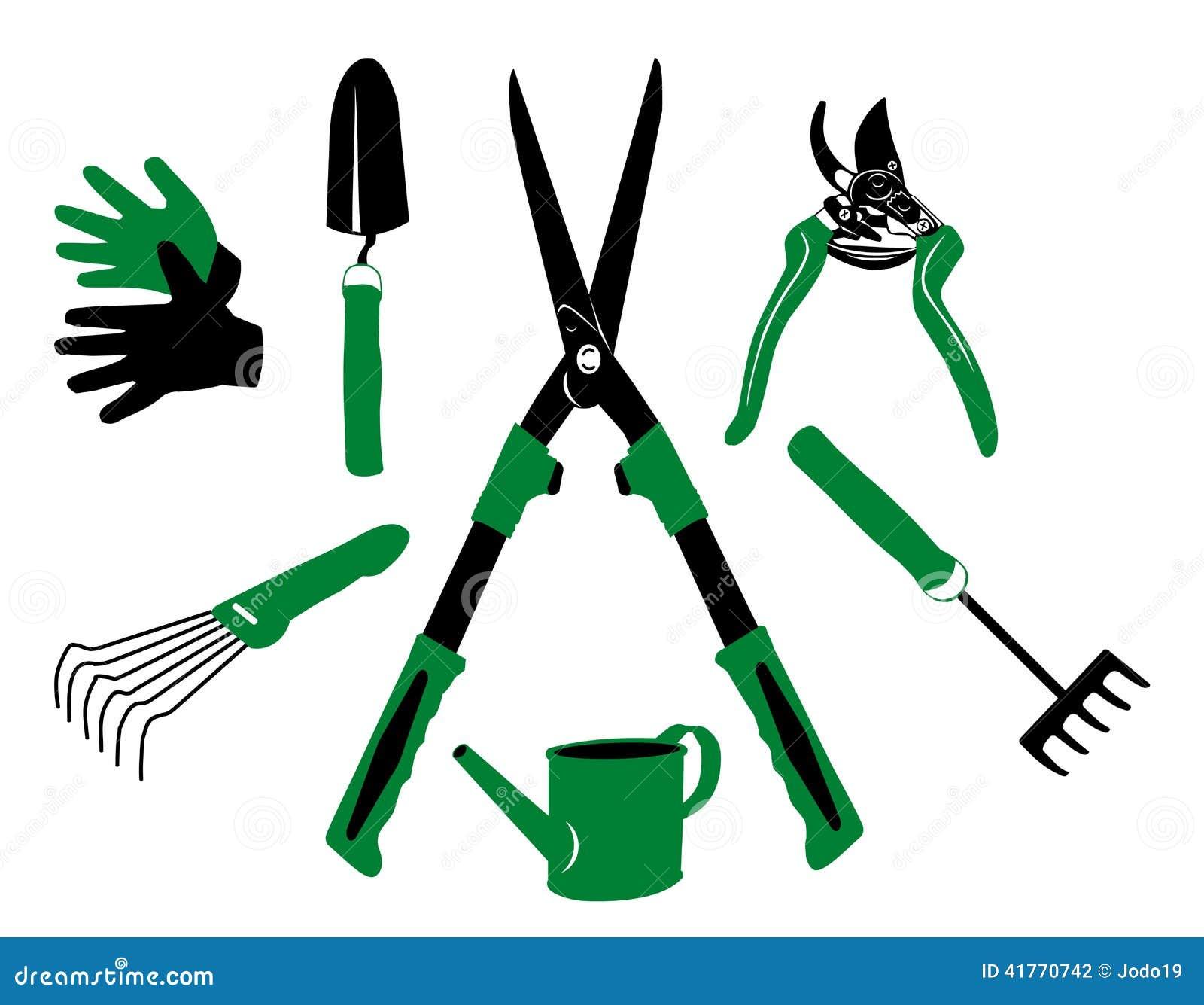 utensilios de jardiner a del vector ilustraci n del vector