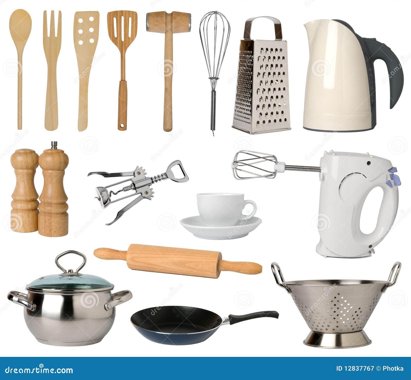 Utensilios de la cocina imagen de archivo imagen de for Utensilios medidores cocina