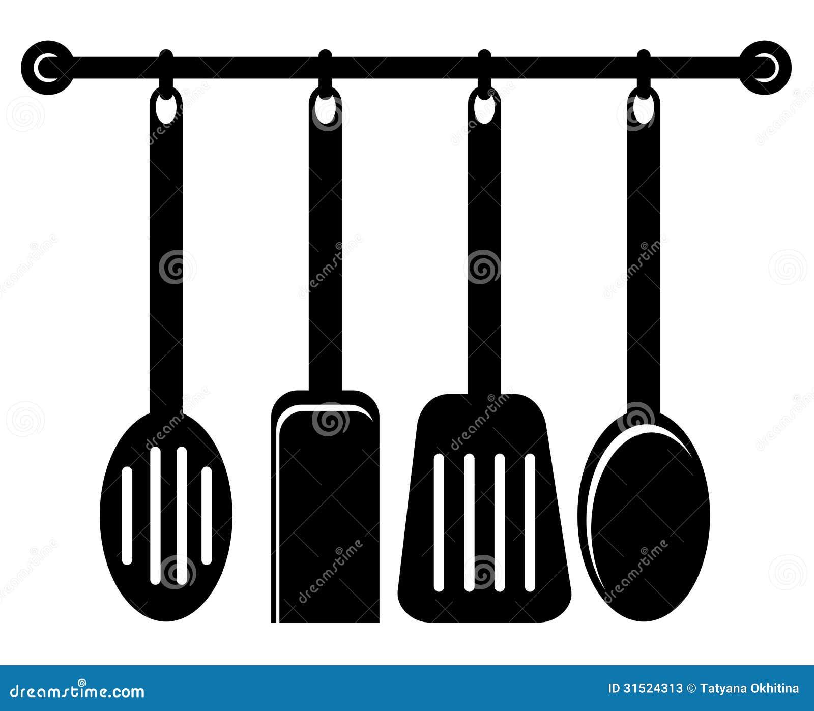 Utensilios de la cocina fotos de archivo imagen 31524313 for Utensilios de cocina fondo