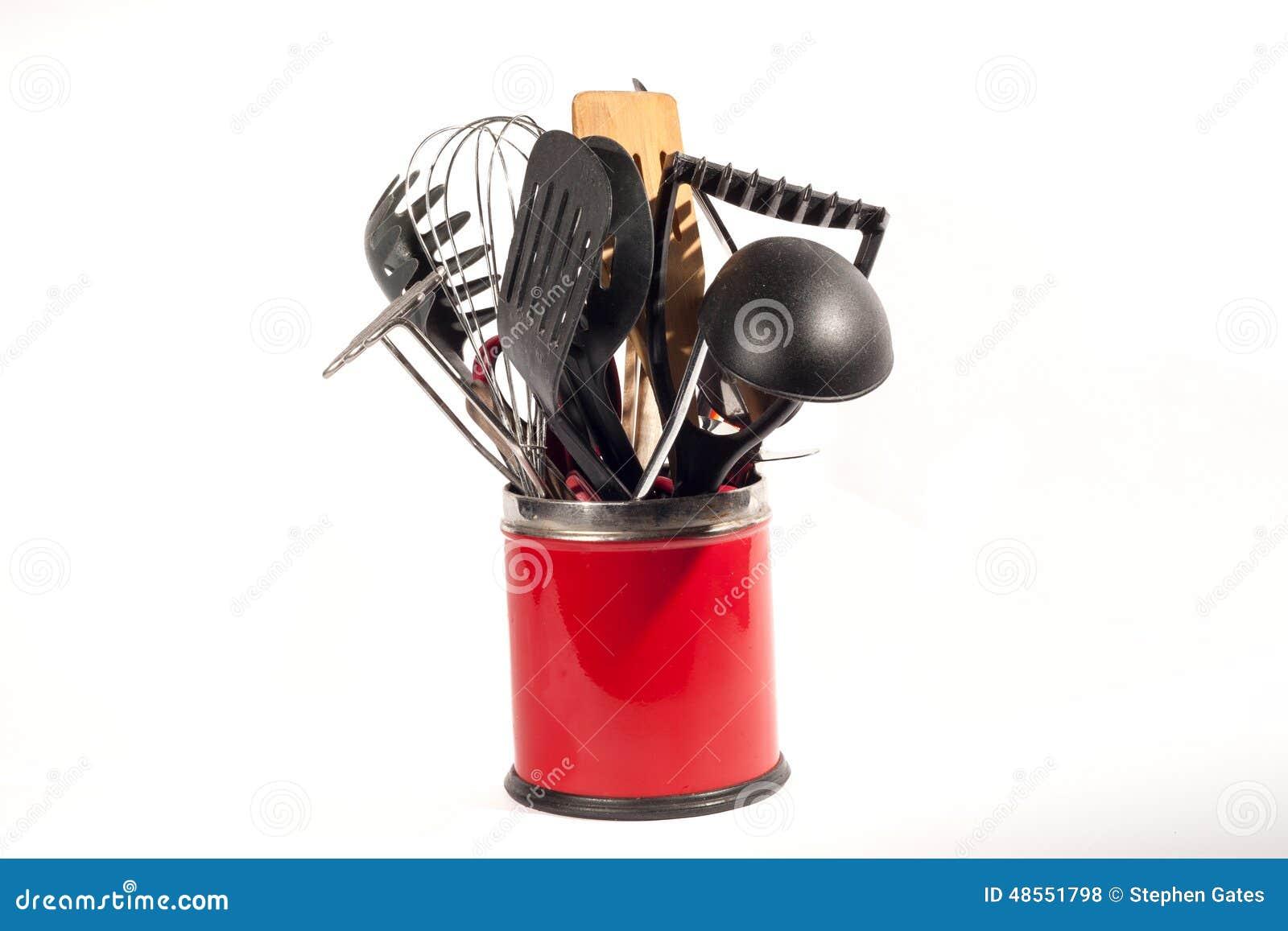 Utensilios de la cocina foto de archivo imagen 48551798 - Utensilios de cocina de diseno ...