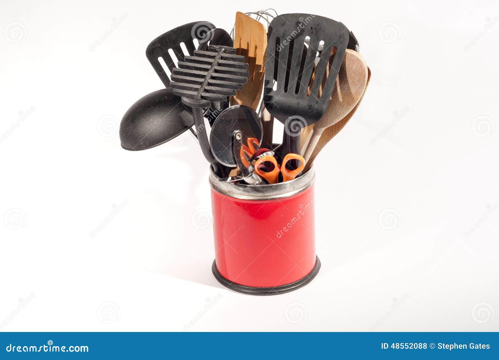 Utensilios de la cocina foto de archivo imagen 48552088 for Utensilios de cocina fondo