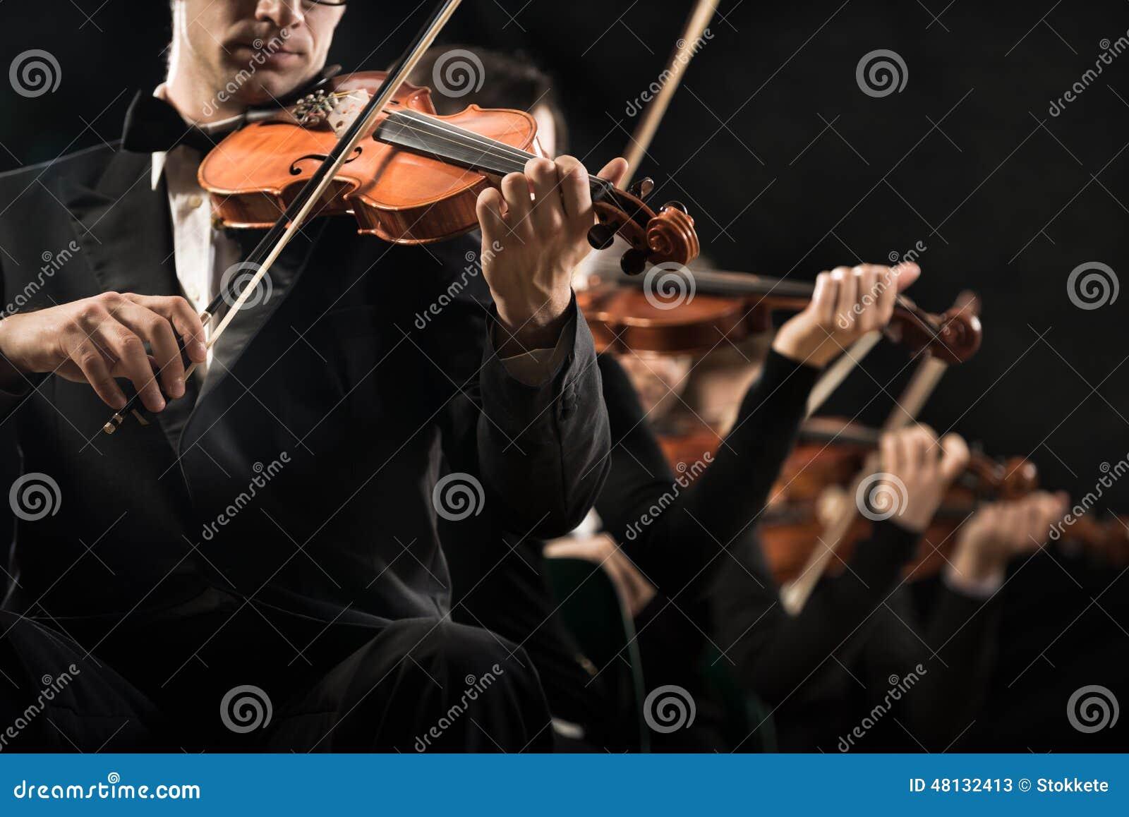 Utföra för fiolorkester