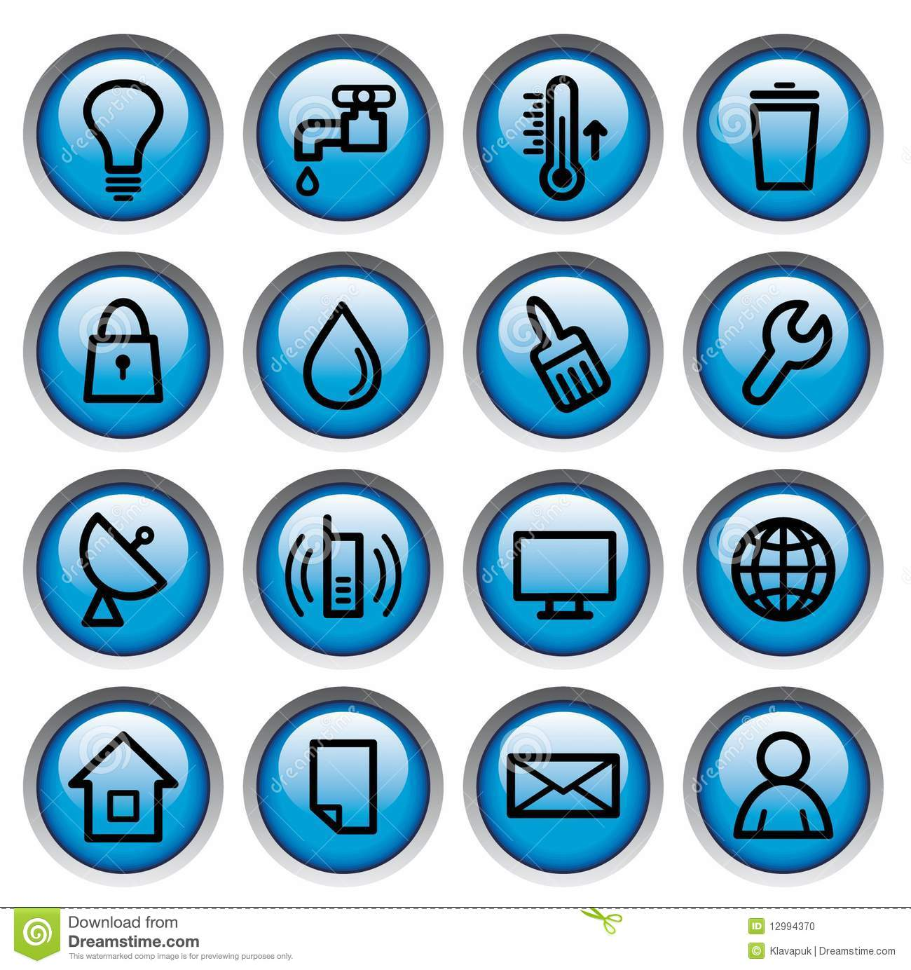 Utility Images, Stock Photos & Vectors | Shutterstock |Residential Utilities Icon
