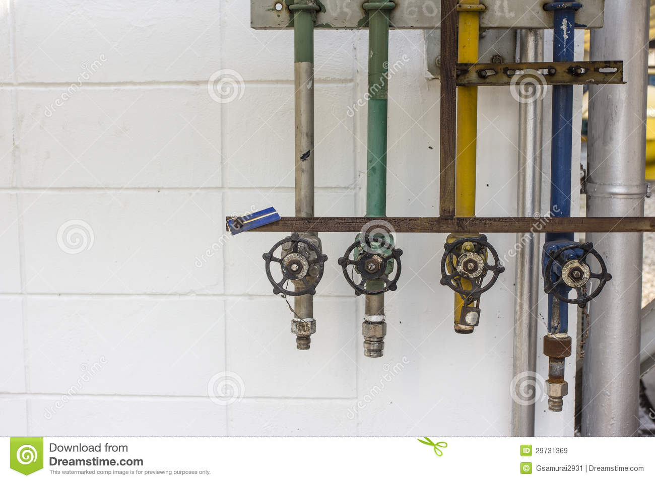 Utility Station Stock Image Image Of Piping Tool