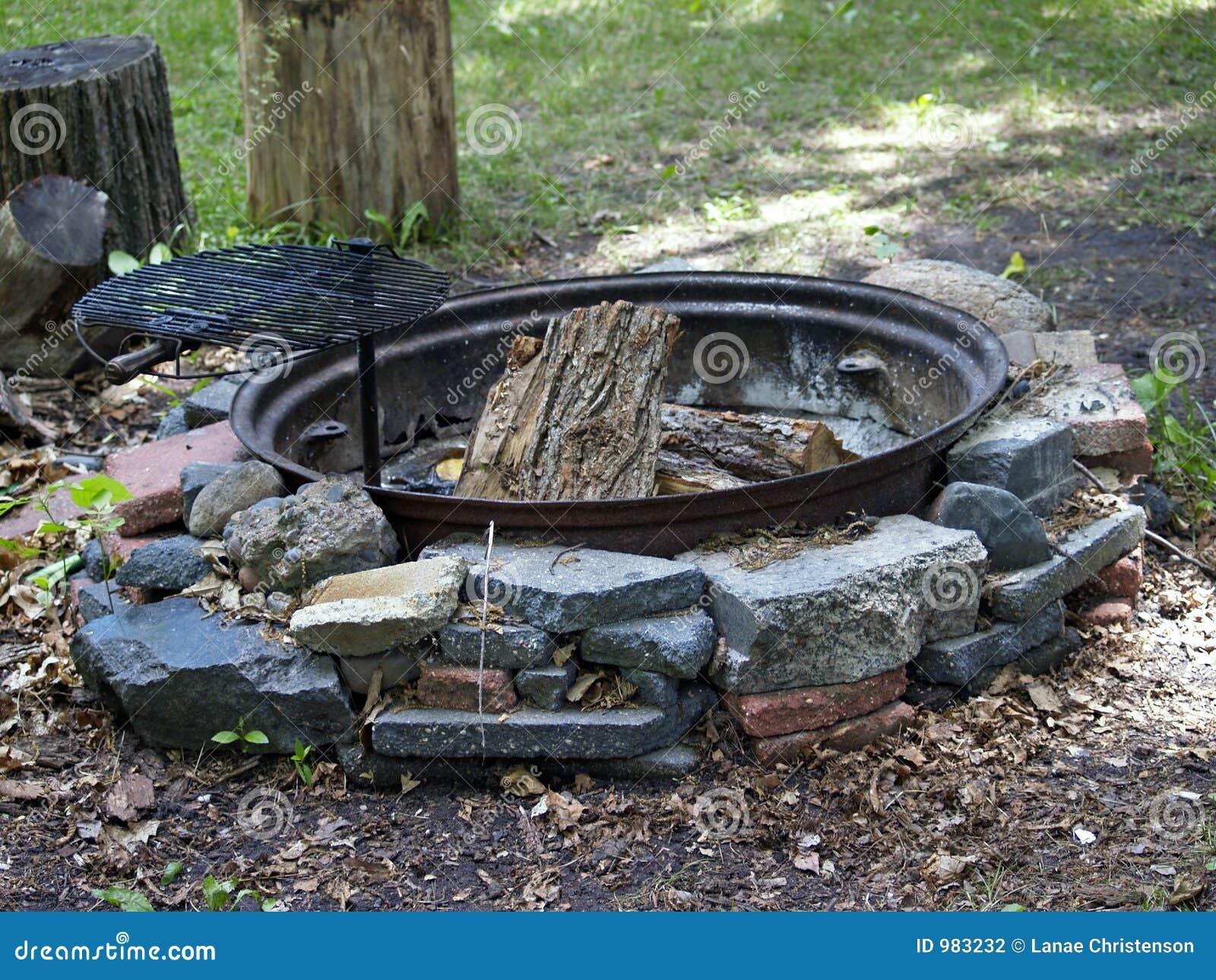 Utomhus- cirkel för brand
