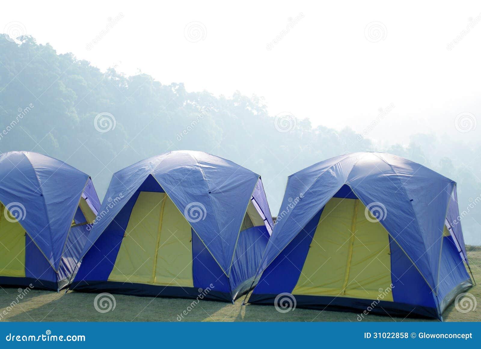 Utomhus- tält i det härliga berget
