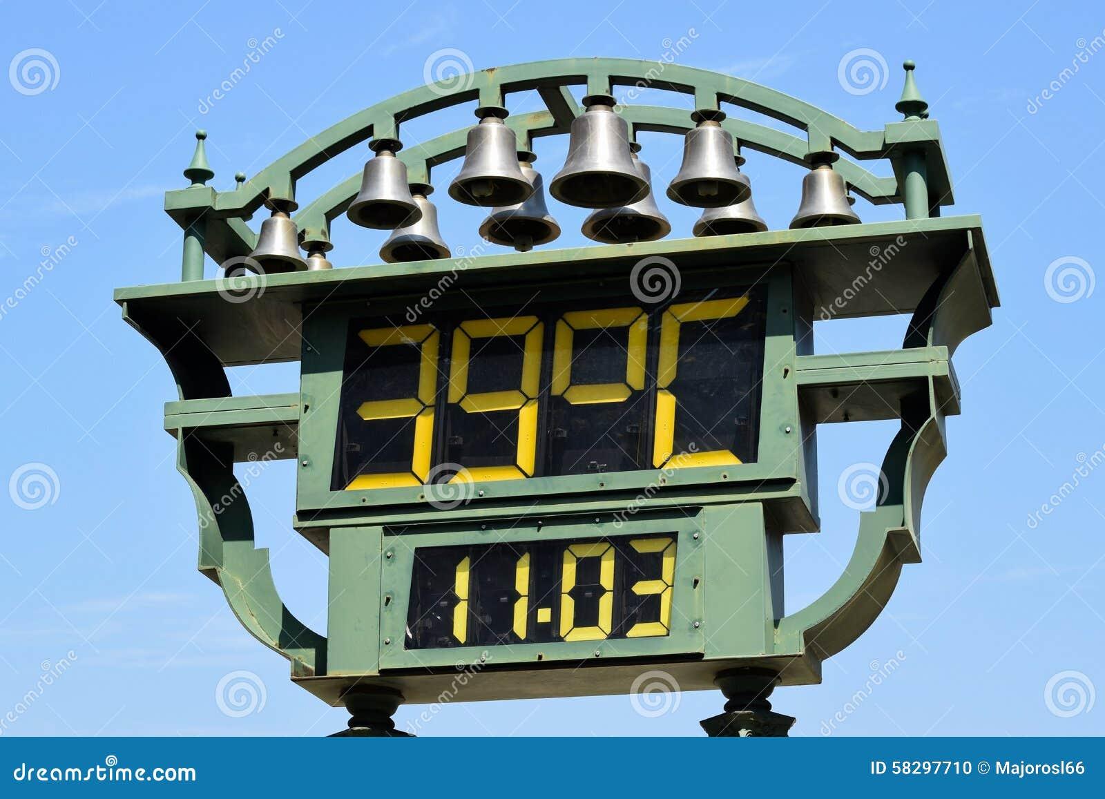 Utomhus- termometer arkivfoto. Bild av temperatur 832910c71c3c0