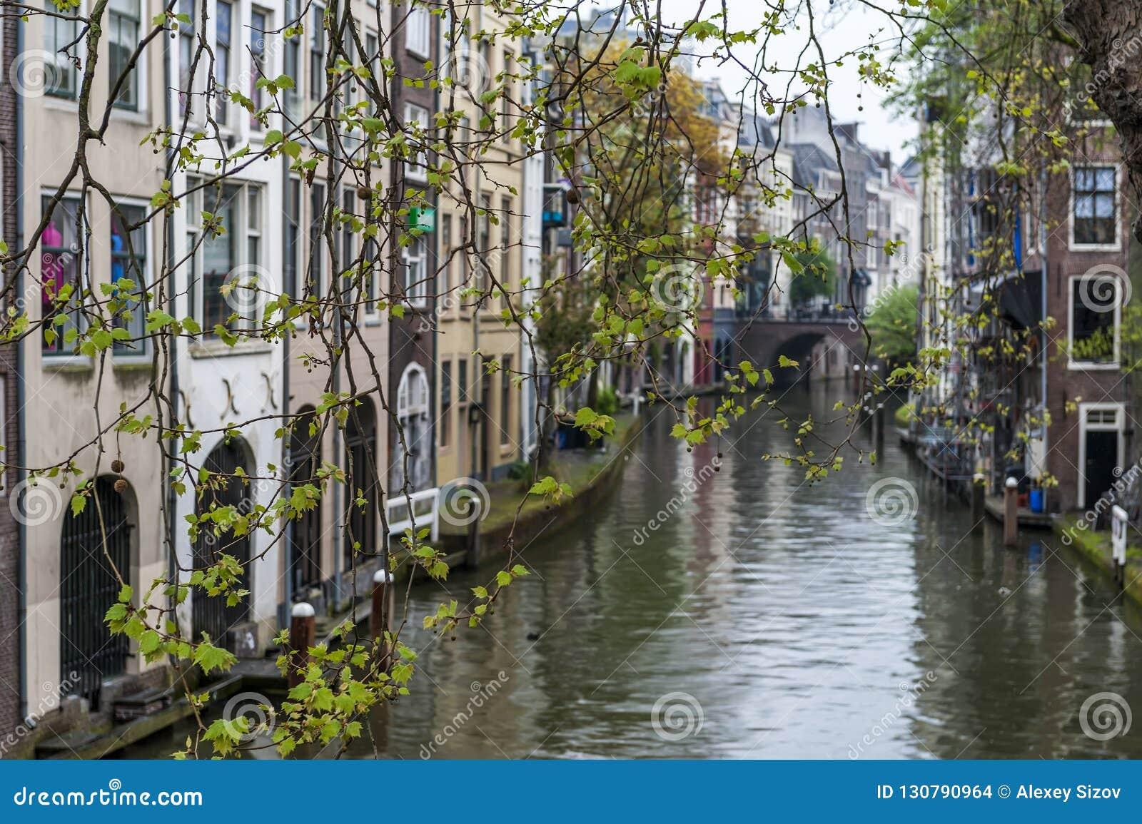Utrecht canal holland