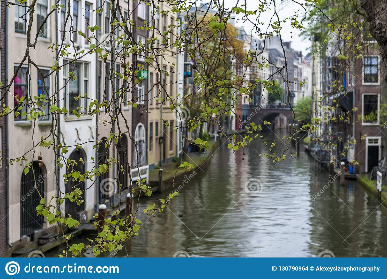 Utrecht canale l olanda