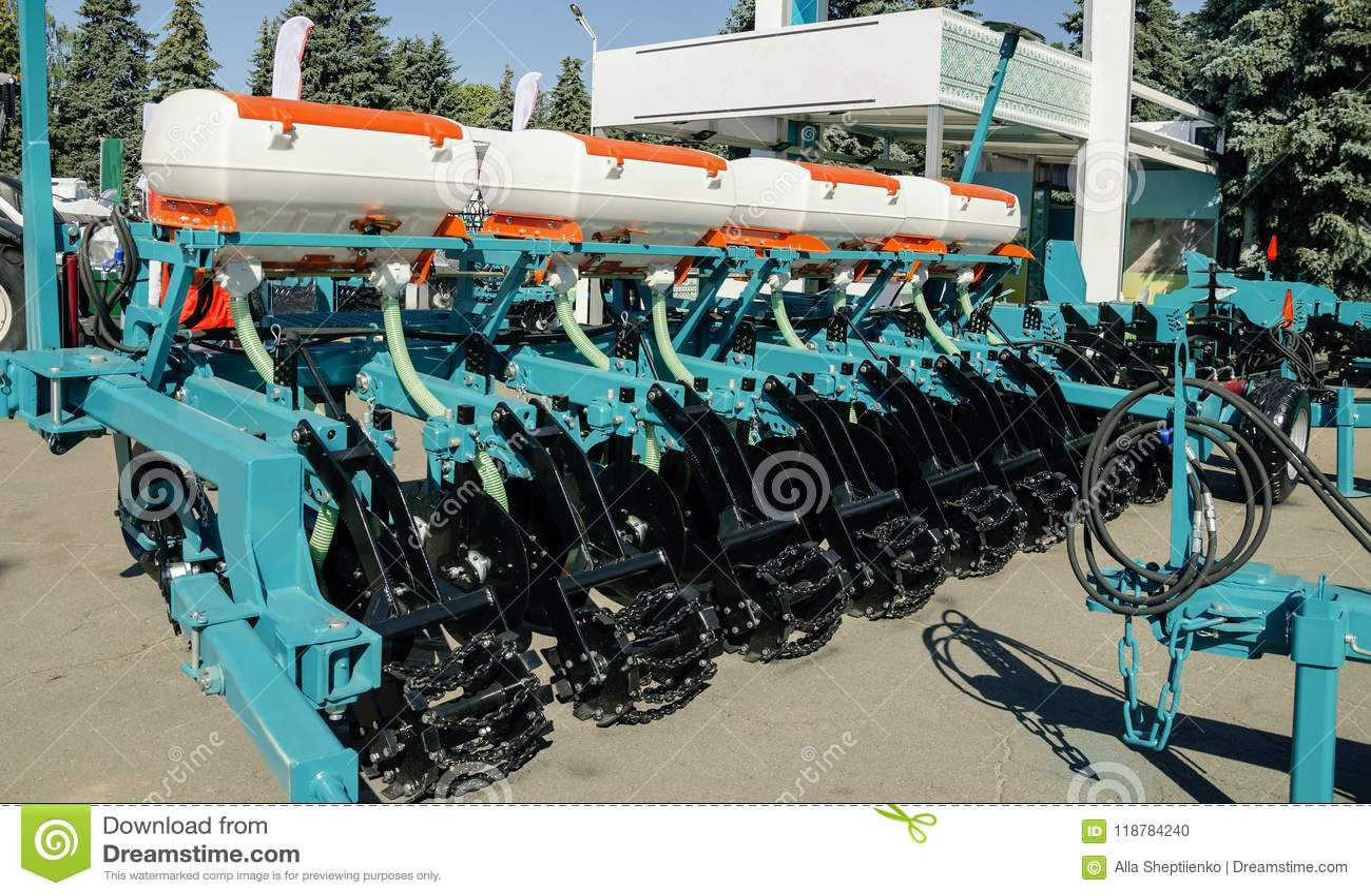 Utrustning för jordbruk