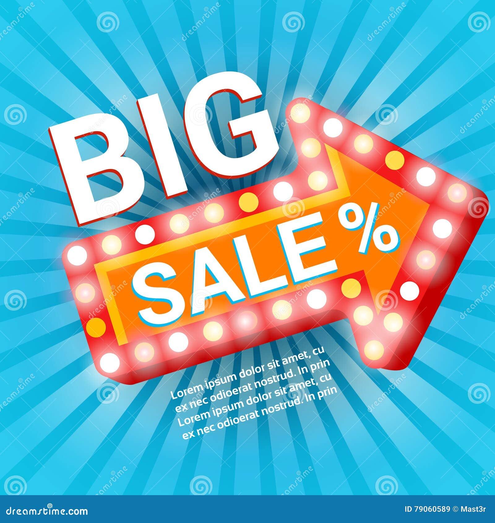 Utrymme för kopia för baner för Black Friday stort Sale ferieshopping