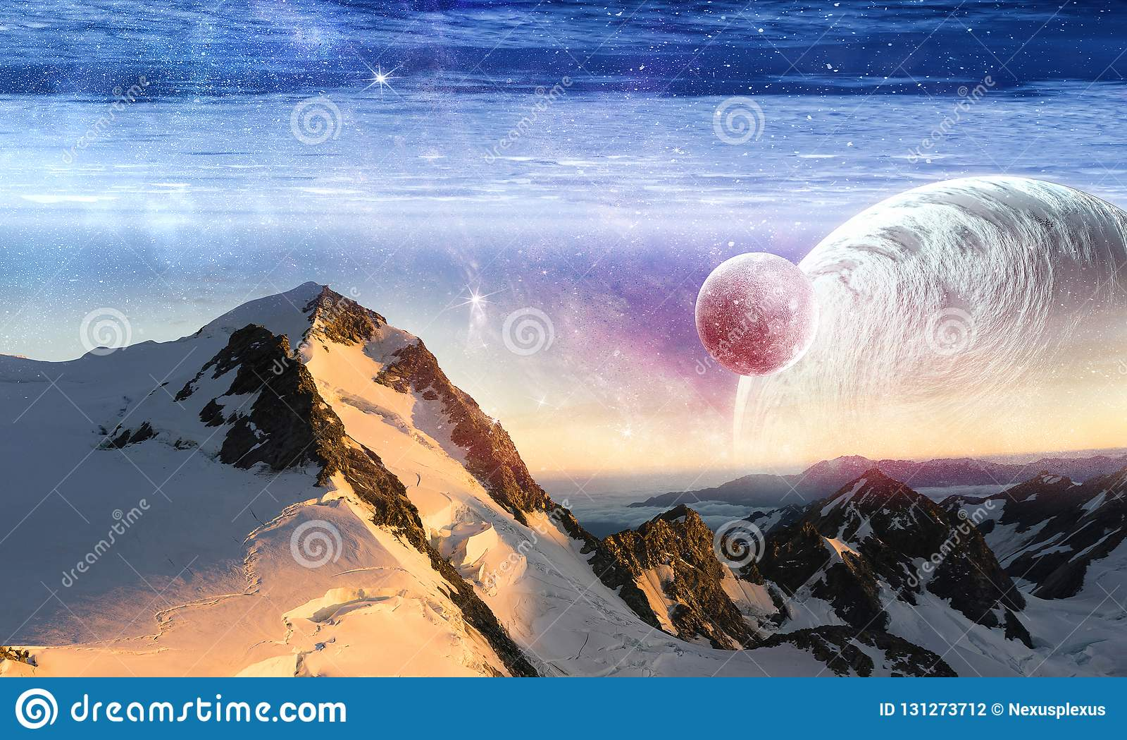 Utrymmeplaneter och natur