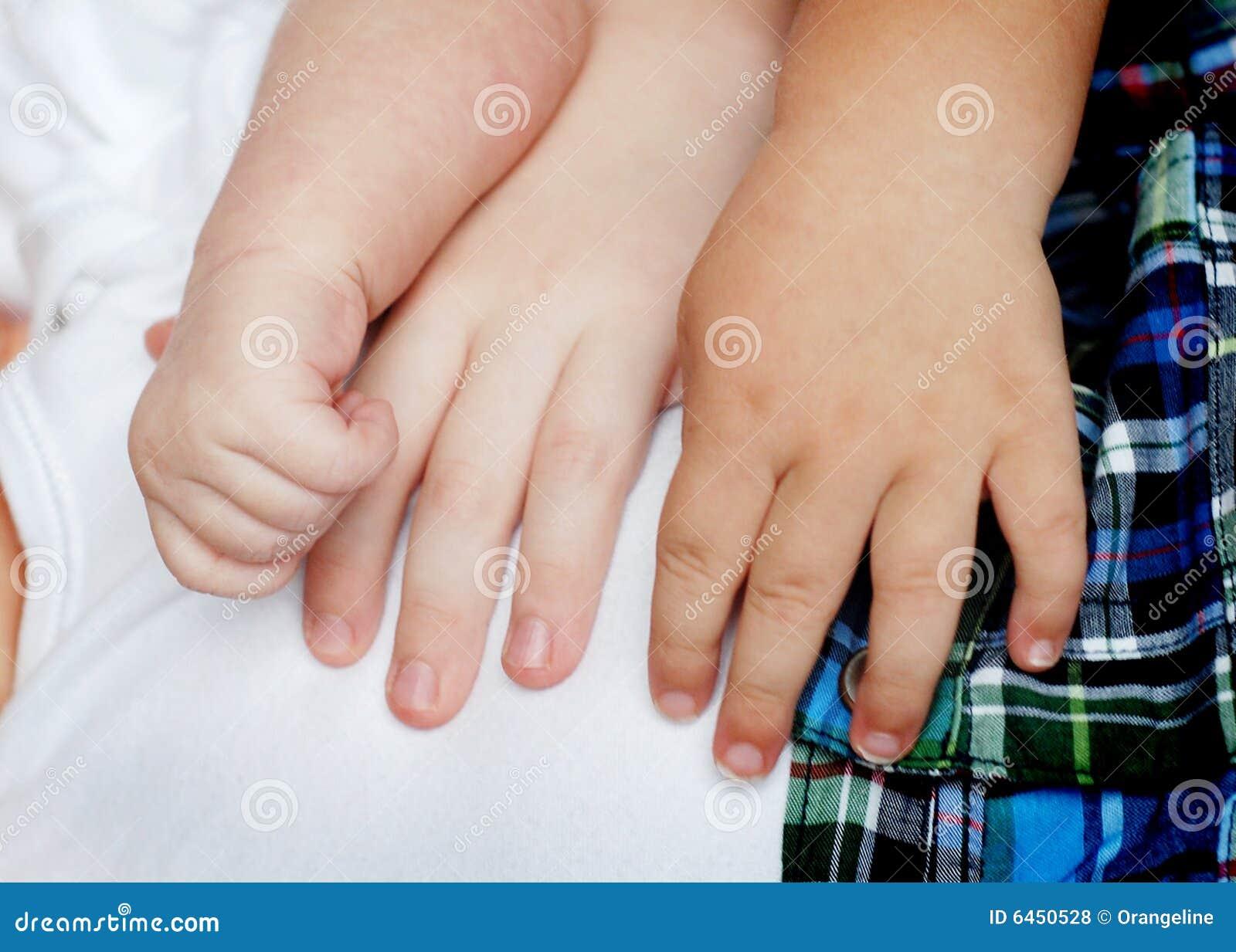 Utrzymać rąk dziecko