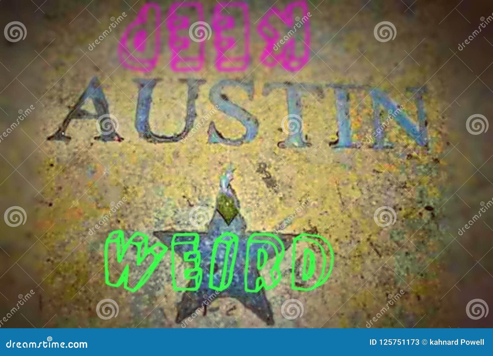 Utrzymuje Austin Dziwny