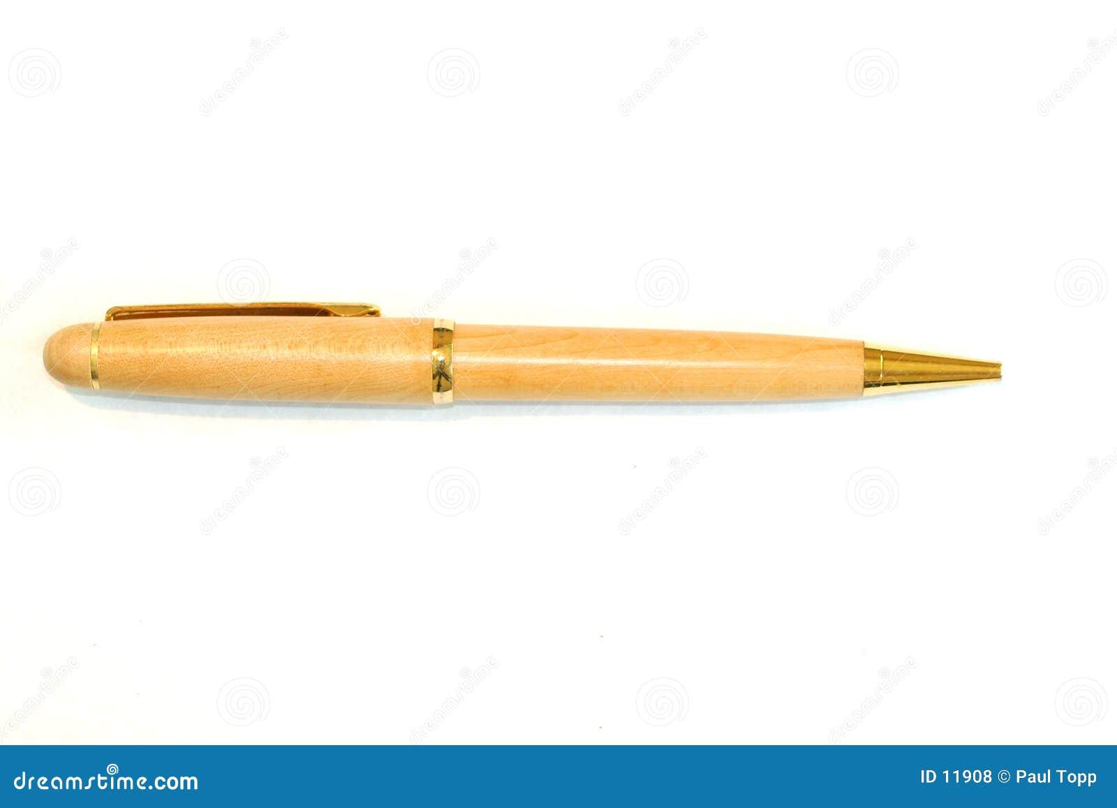 Utsmyckad bläckpenna
