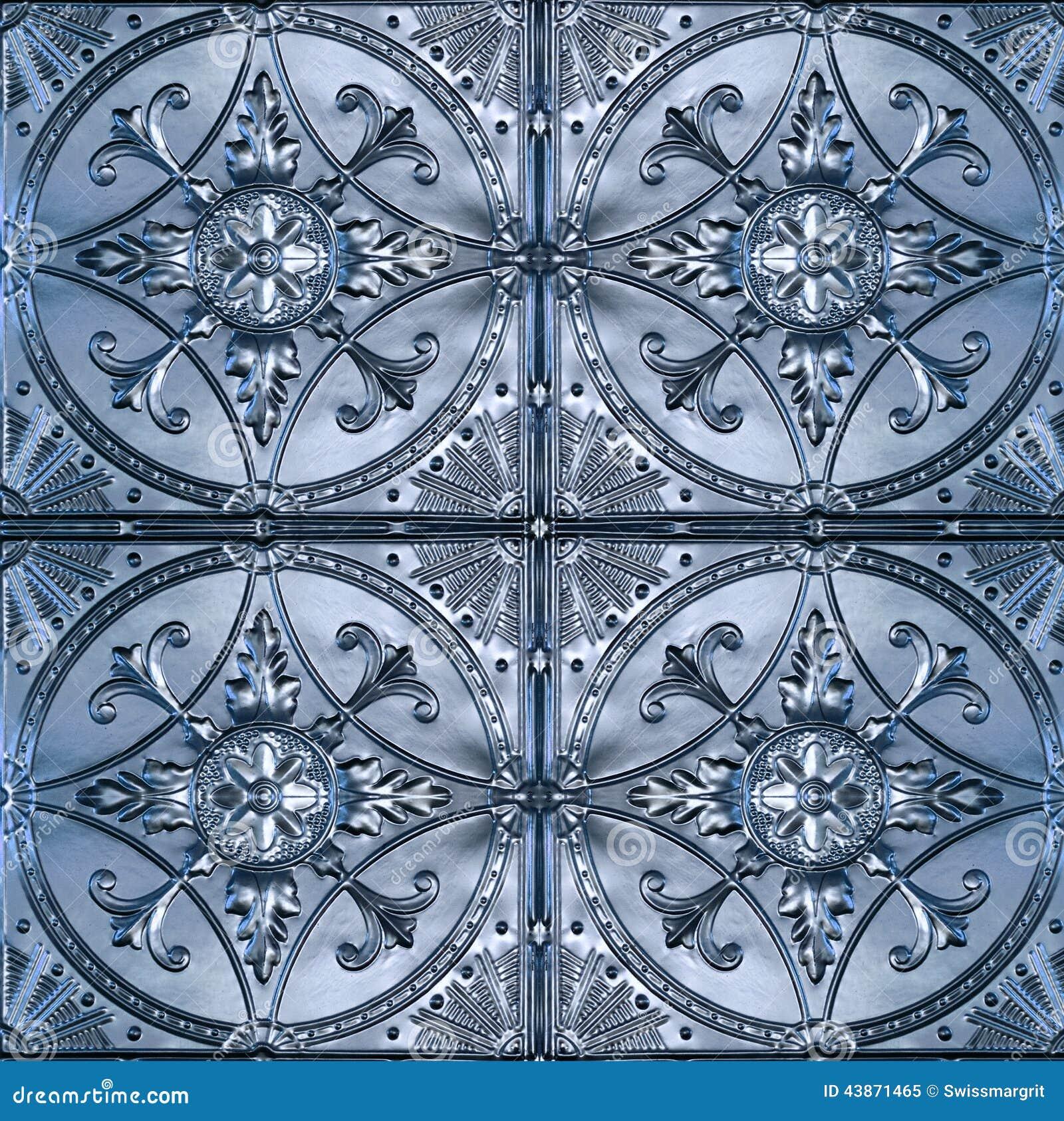 Utsmyckade Tin Ceiling Tiles