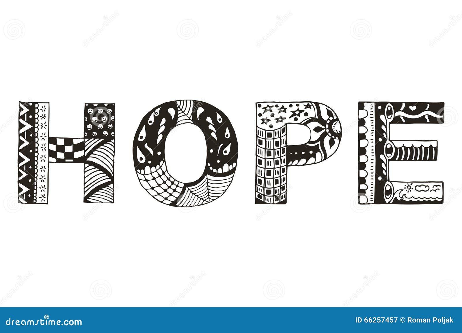 Uttrycka stiliserad hoppzentangle, vektorn, illustrationen, frihandspenna