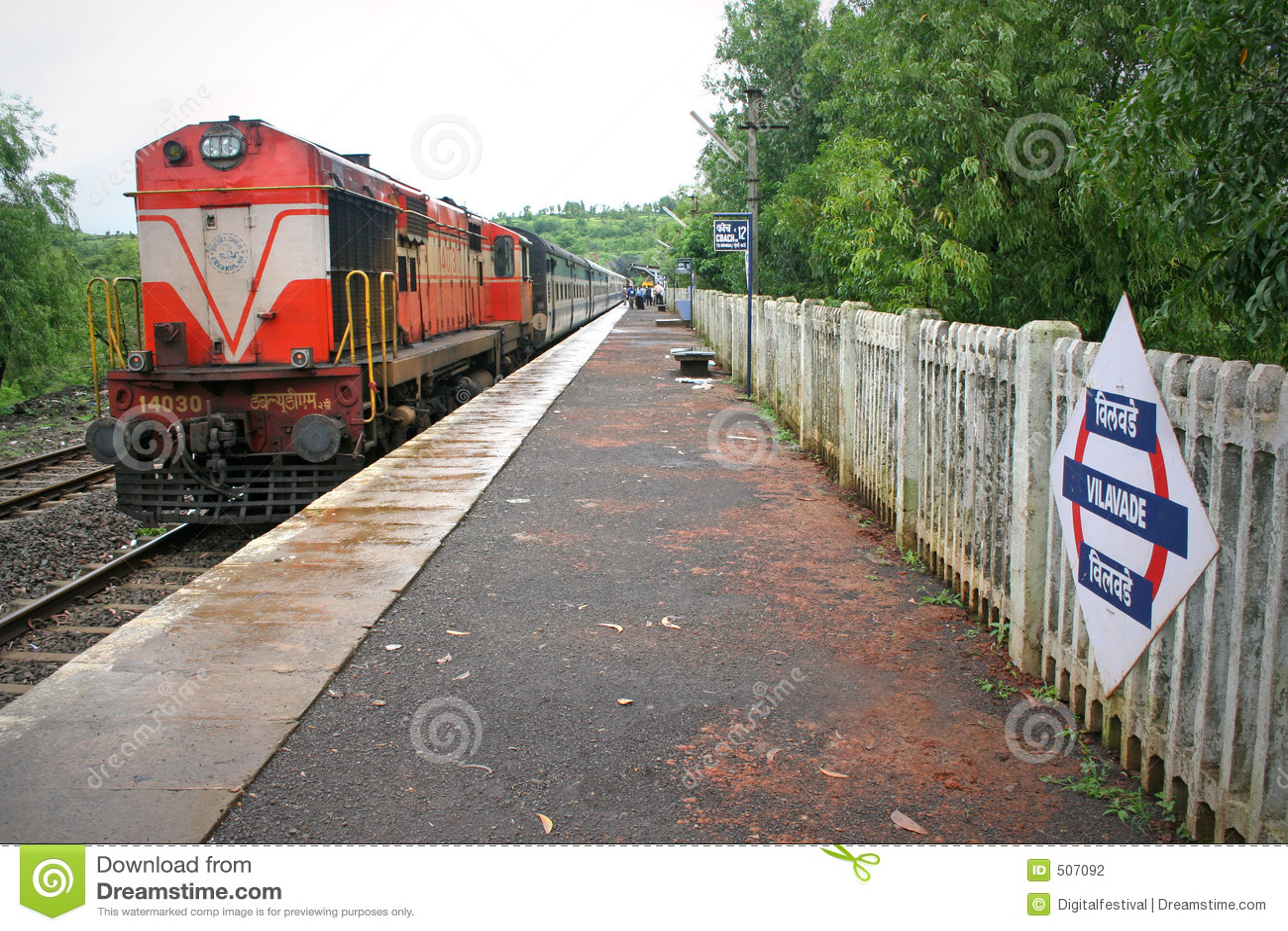 Uttryckt haltindia konkan järnväg drev