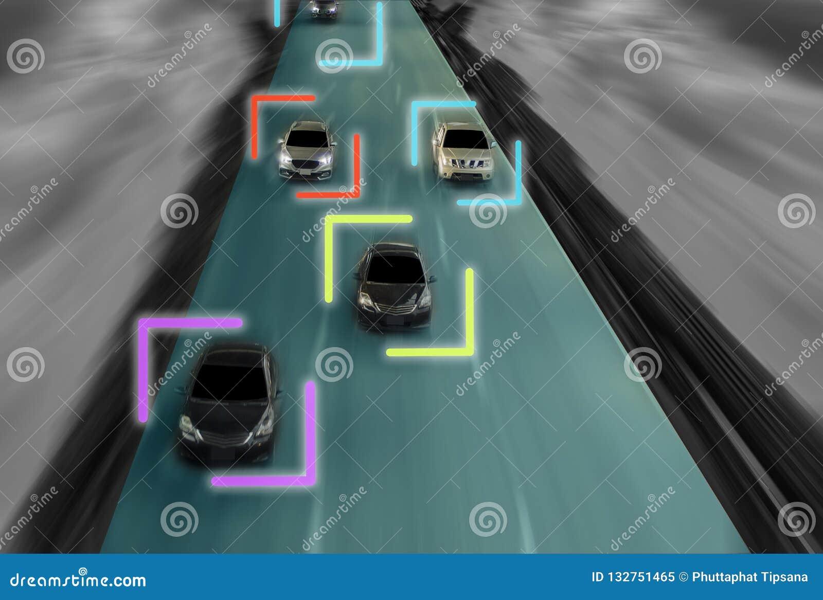 Uturistic droga geniusz dla inteligentnej jaźni napędowych samochodów, Arti