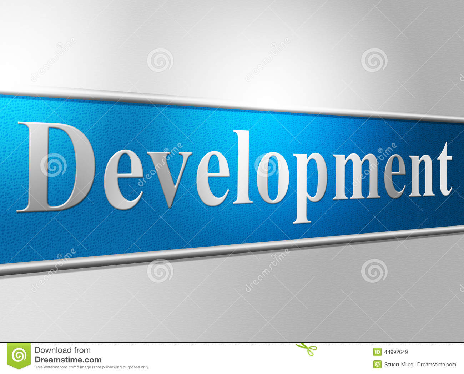 Utveckling framkallar indikerar regenereringframsteg och framkallning