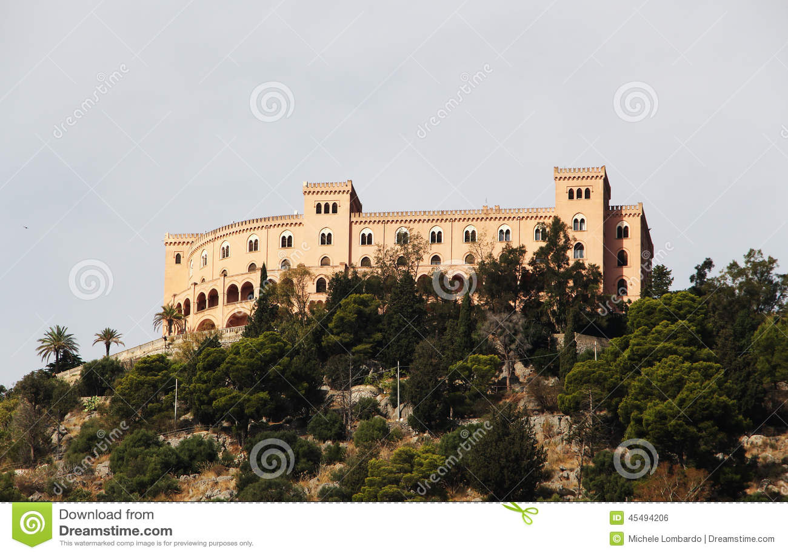Utveggio城堡,巴勒莫