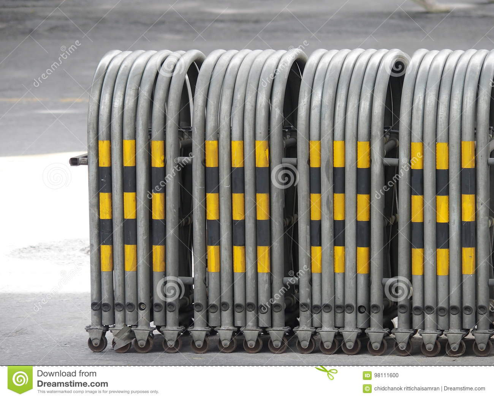 Utvidgbar trafikbarriär