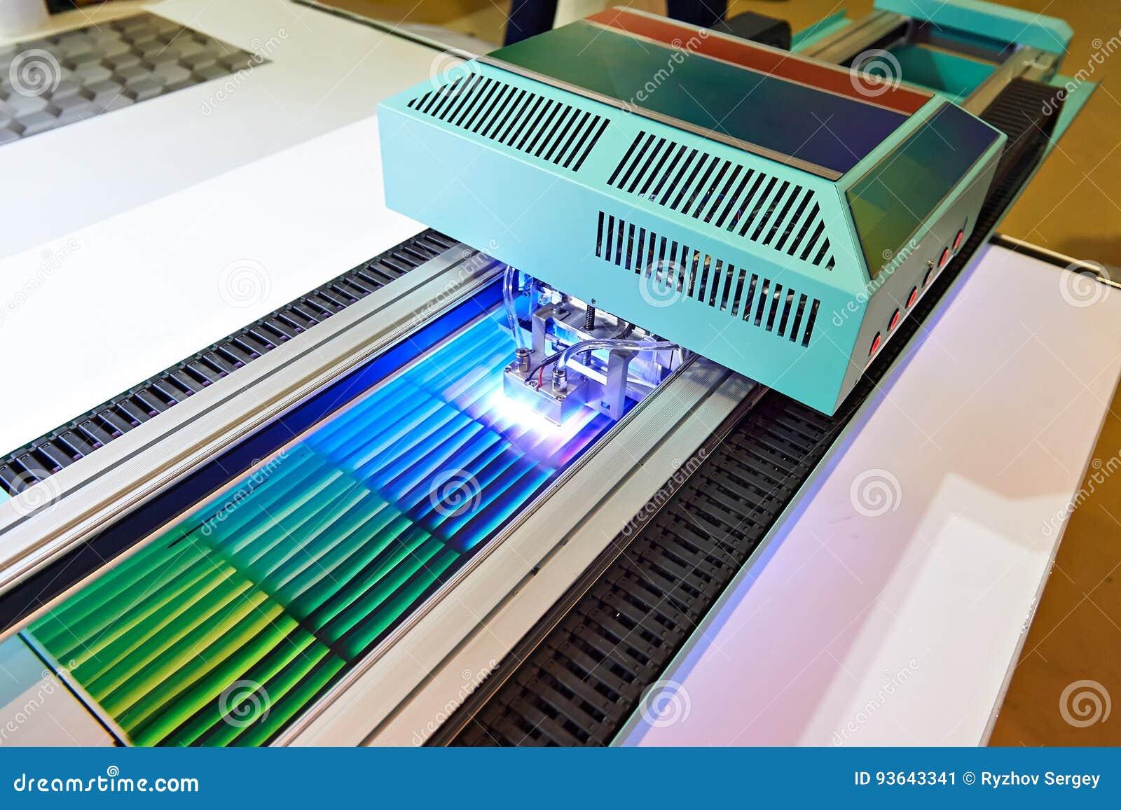 UV beläggningsskrivare för stort format