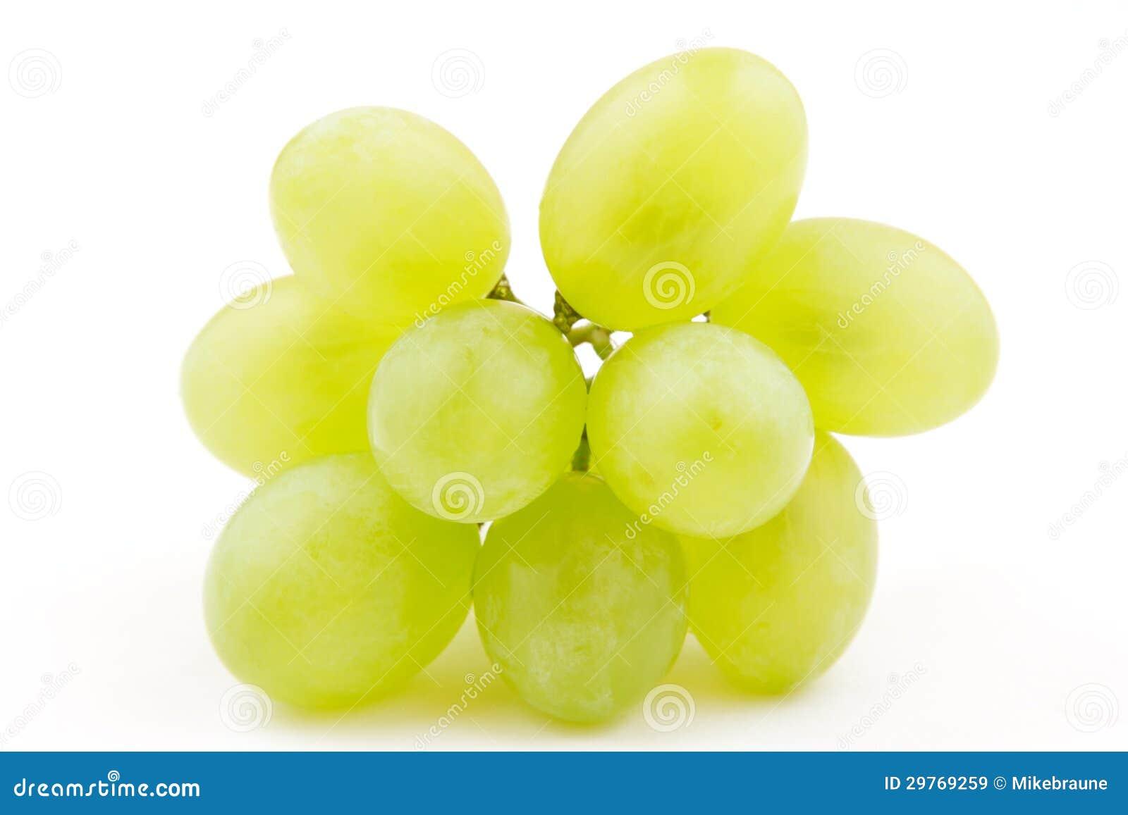Mazzo di uva bianca muscat bianco isolato immagini stock for Disegni del mazzo del cortile anteriore