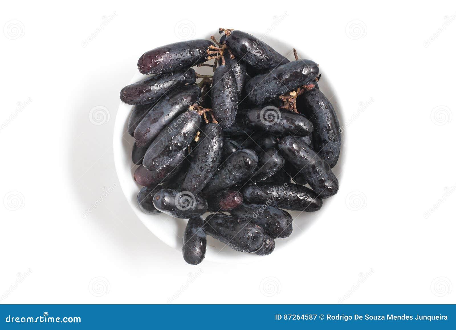 Uva nera lunga di mezzanotte