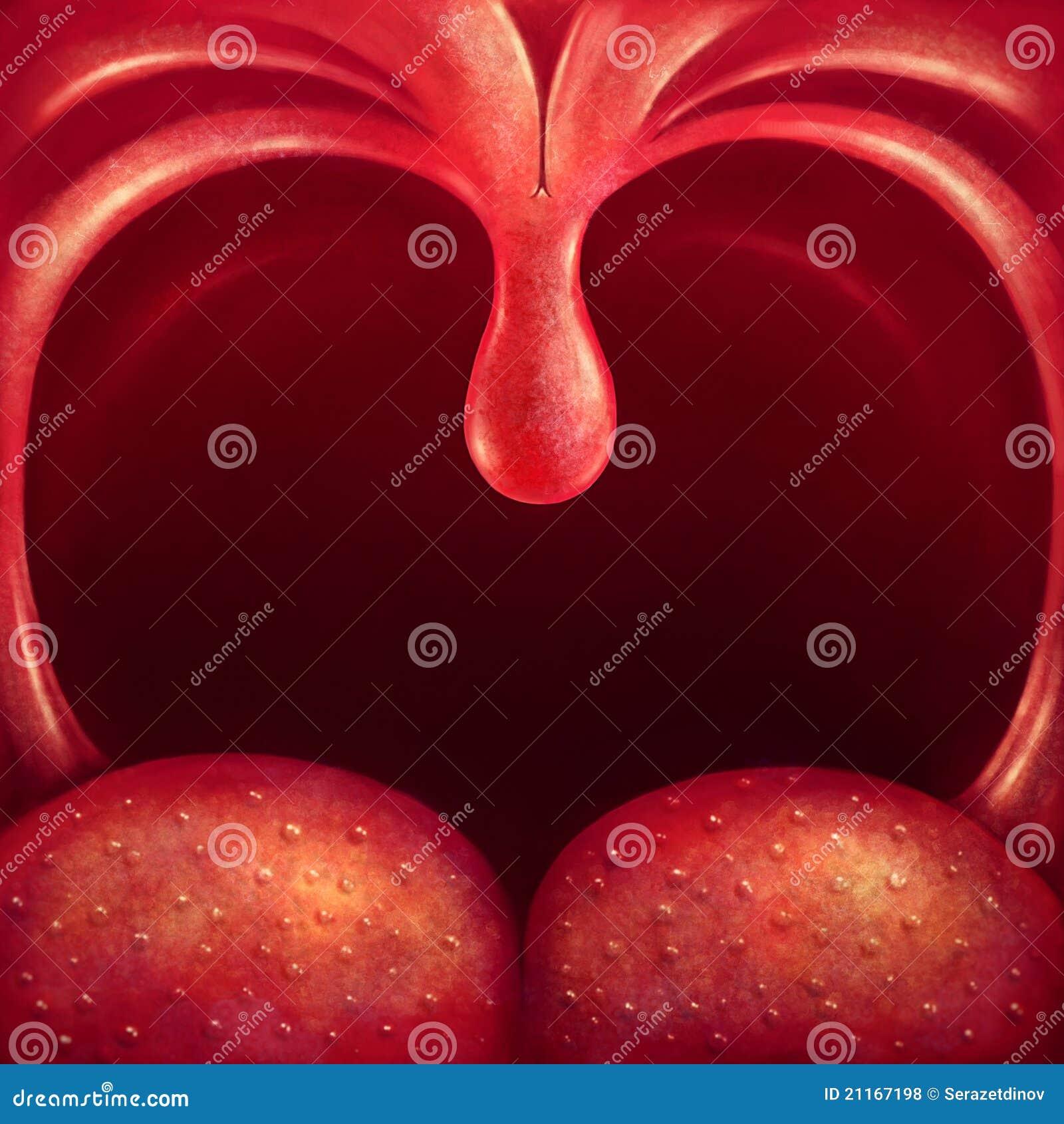 Uvula in gola