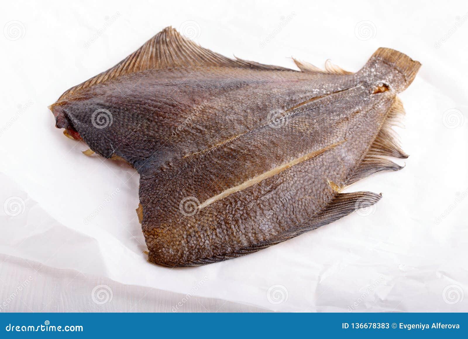 Uwędzona ryba - flądra