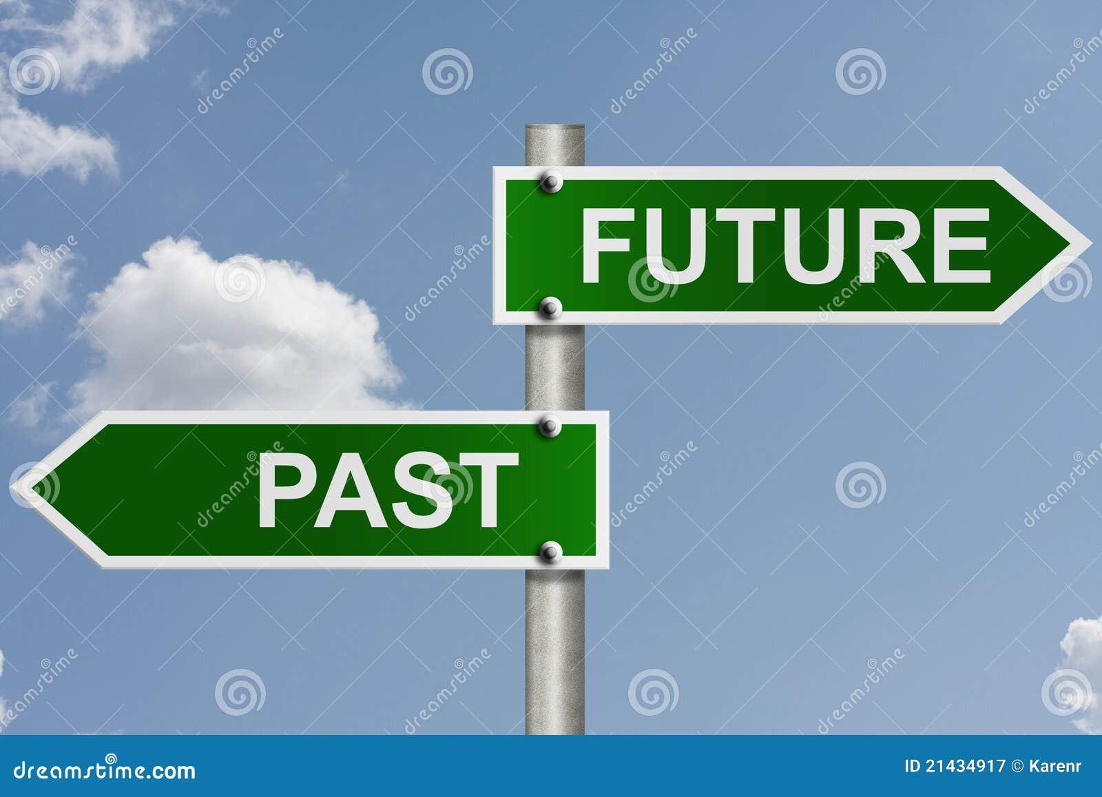 Citaten Toekomst Xl : Uw toekomst en verleden stock afbeelding