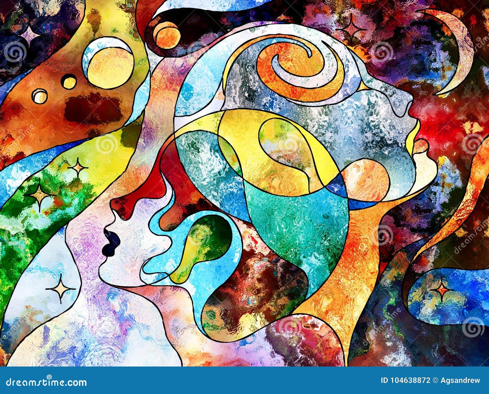 Download Uw Wereld en Mijn stock illustratie. Illustratie bestaande uit hersenen - 104638872