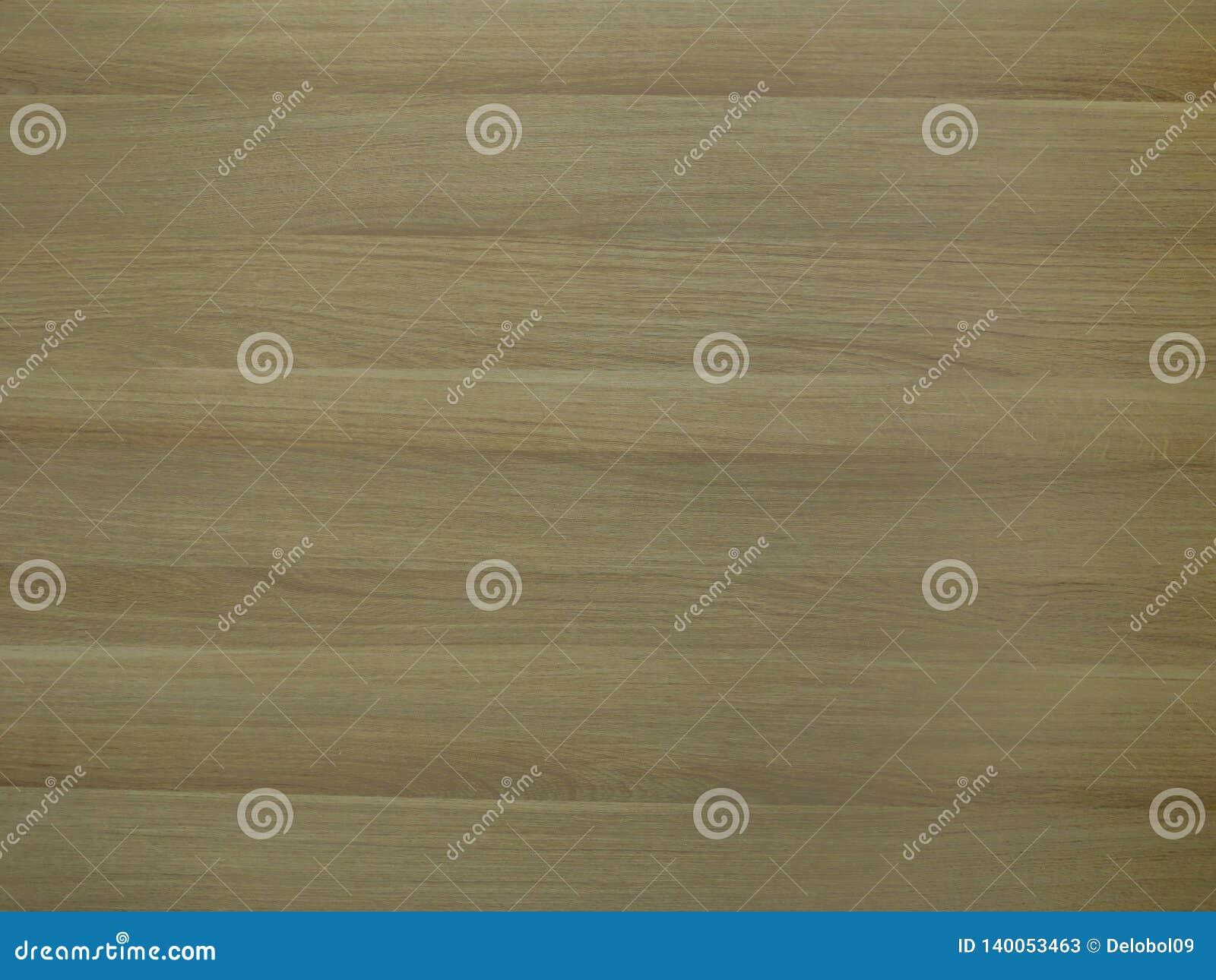 Uwarstwiający panel z żółtego brązu drewna teksturą