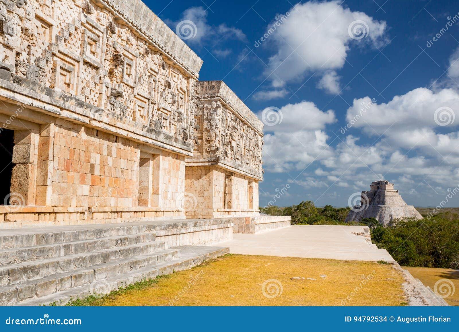 Uxmal, Messico Piramide del mago