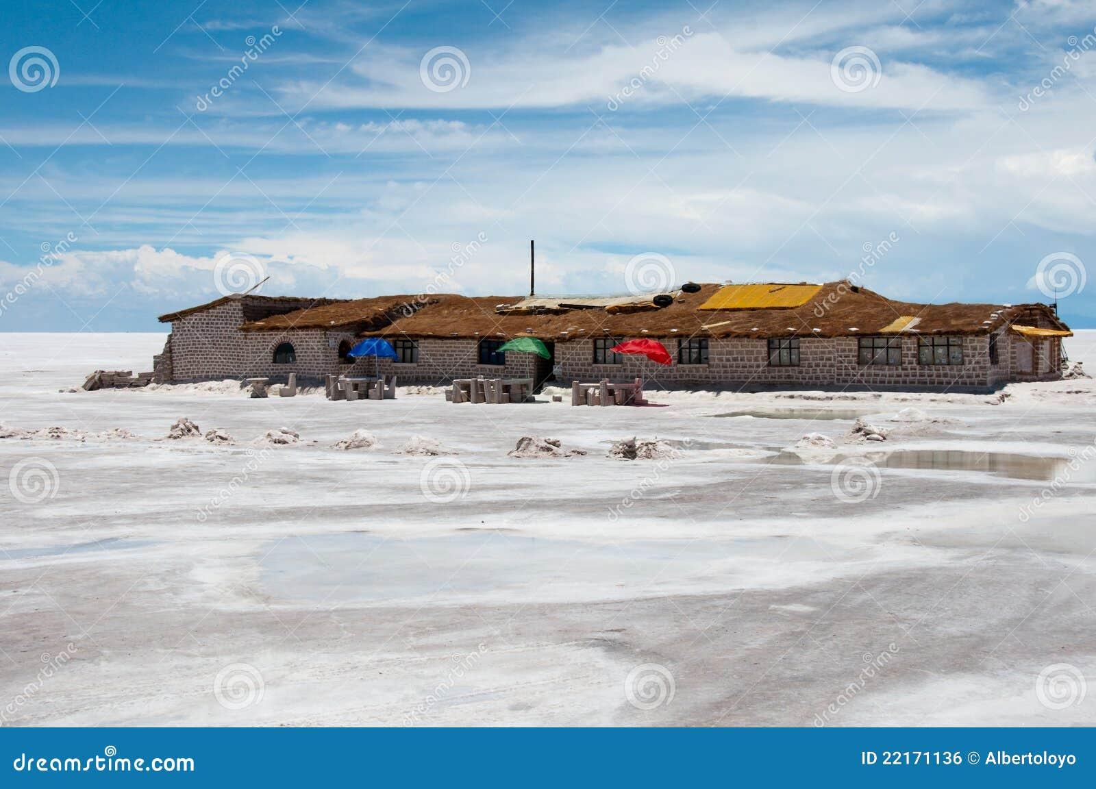 Uyuni, sal plana en Bolivia