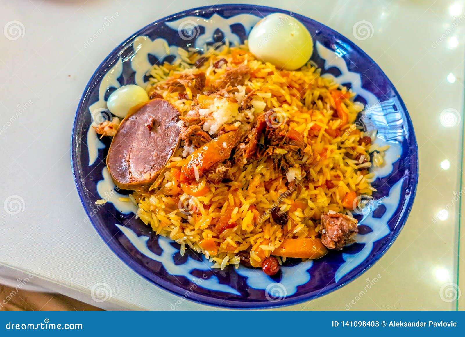 Uzbek Tradycyjna kuchnia 10