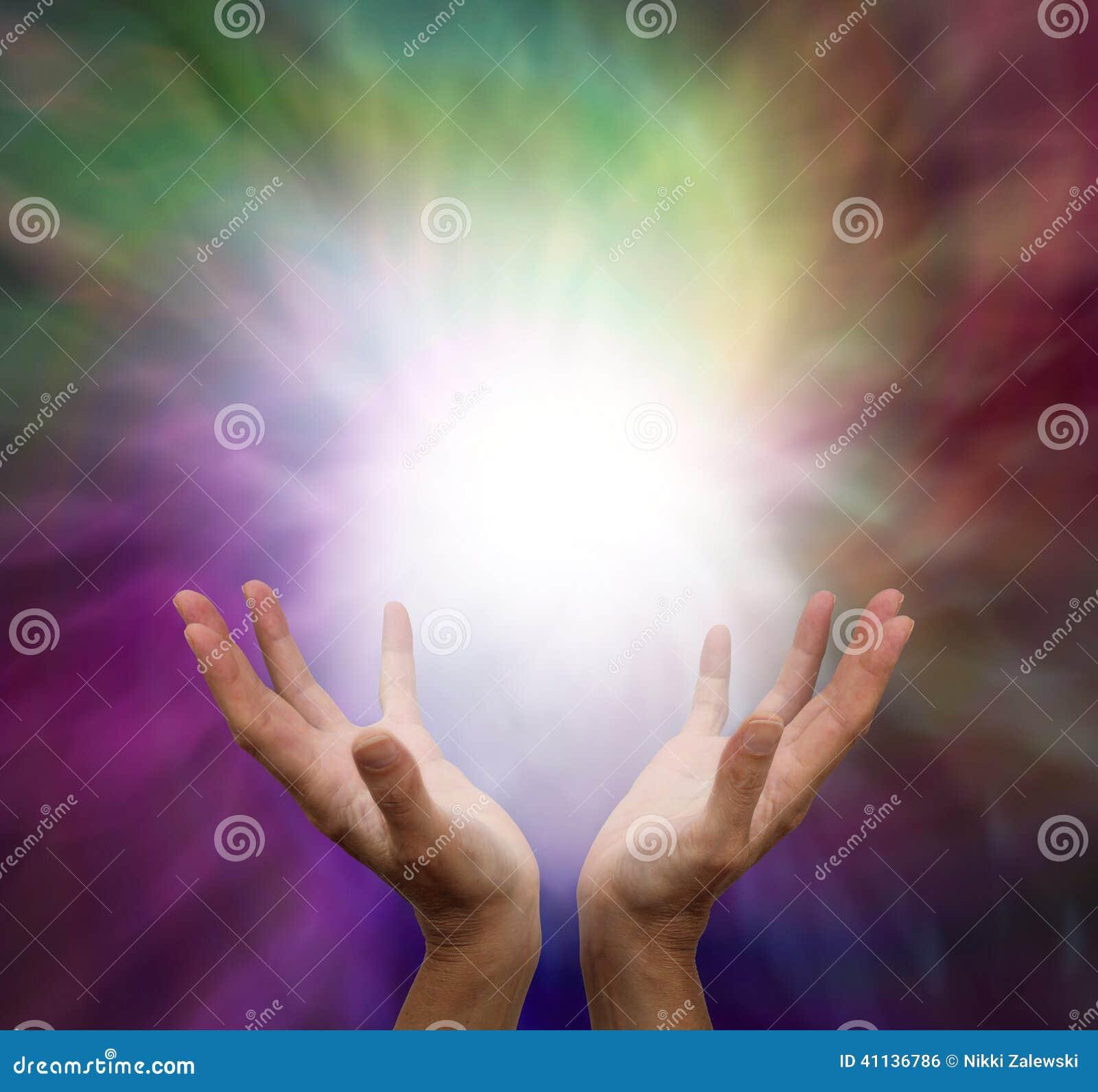 Uzdrawiać ręki i energię
