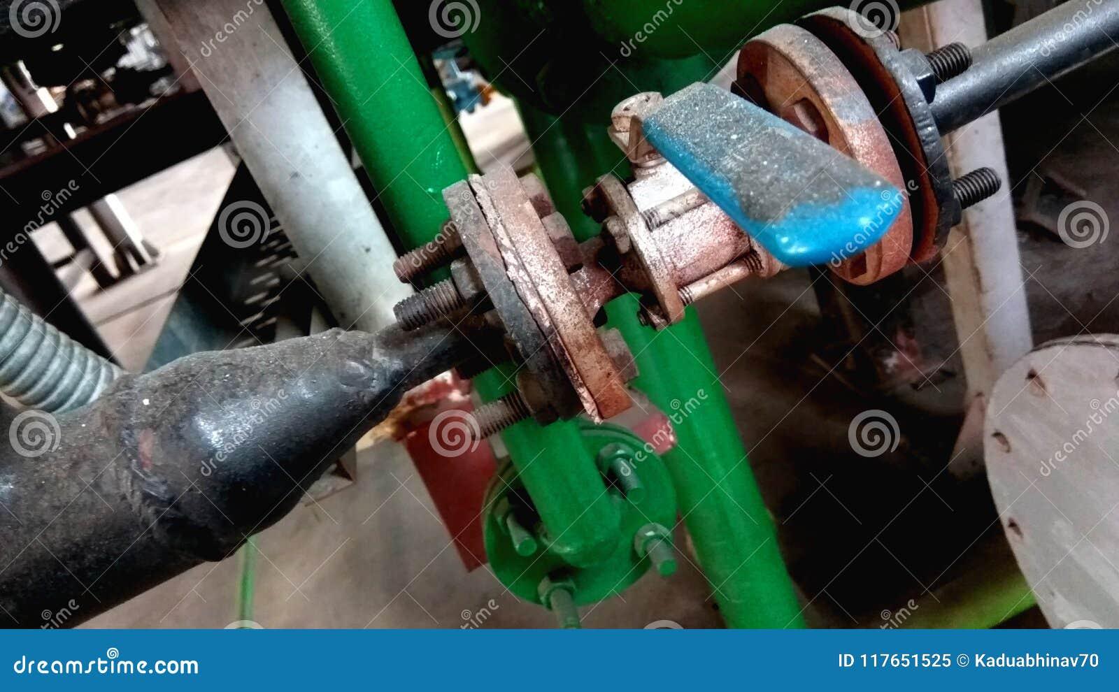 Válvula da tubulação
