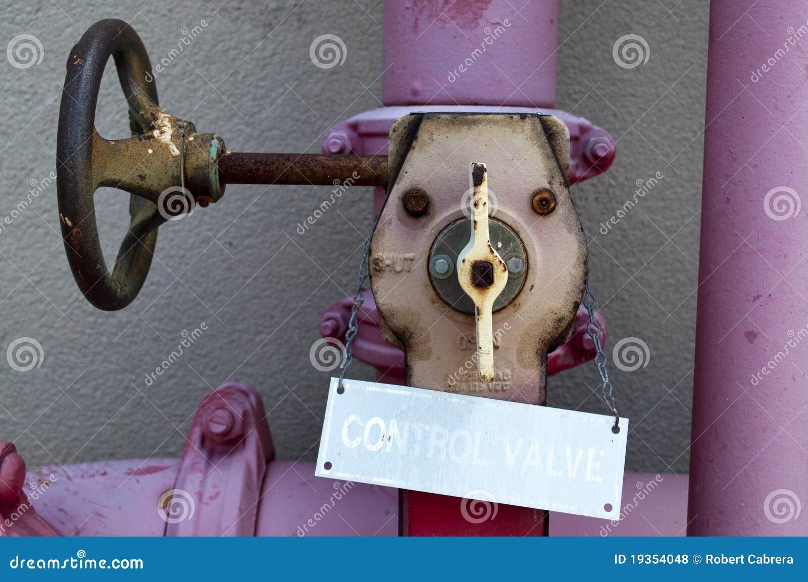 Válvula de controle da água