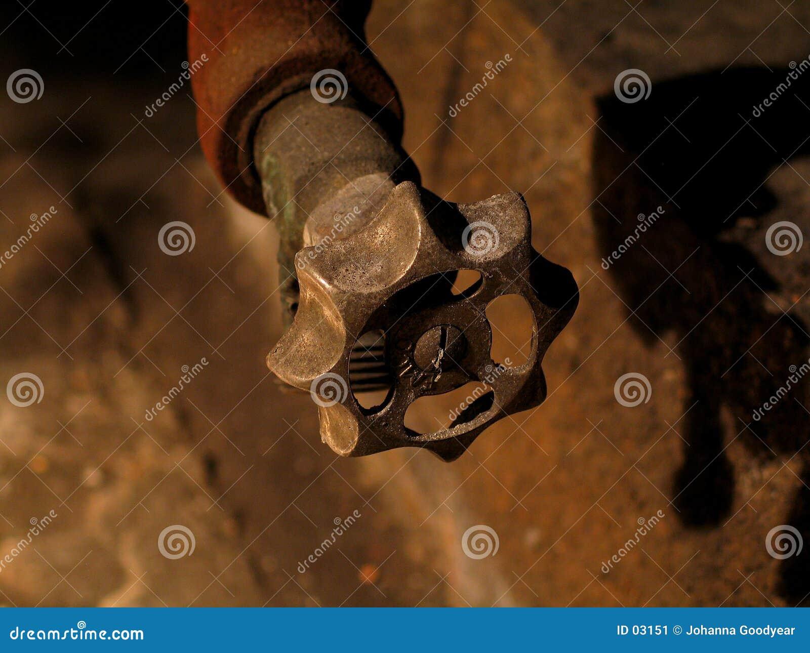 Válvula oxidada