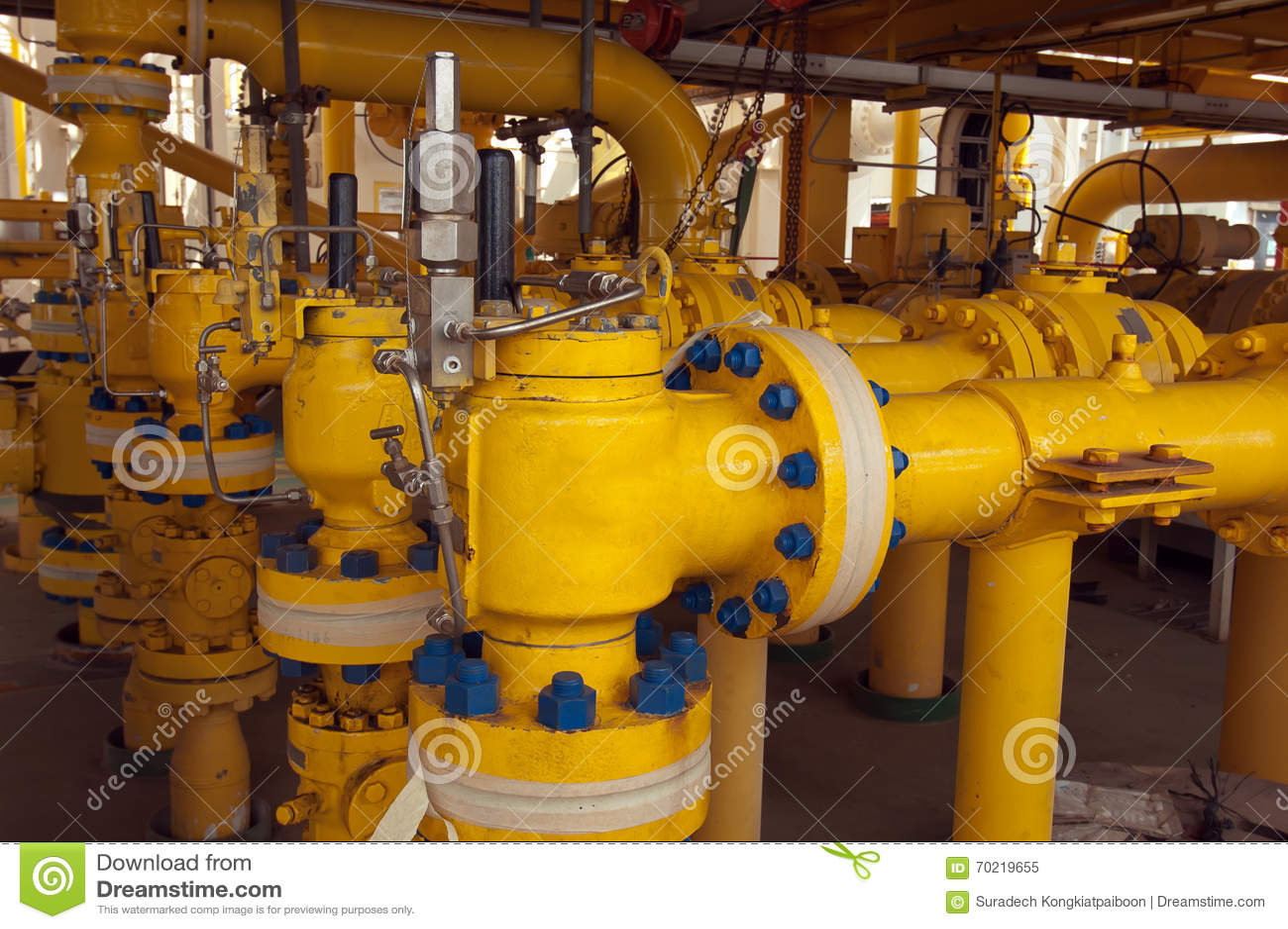 Valvulas de seguridad en la industria petrolera