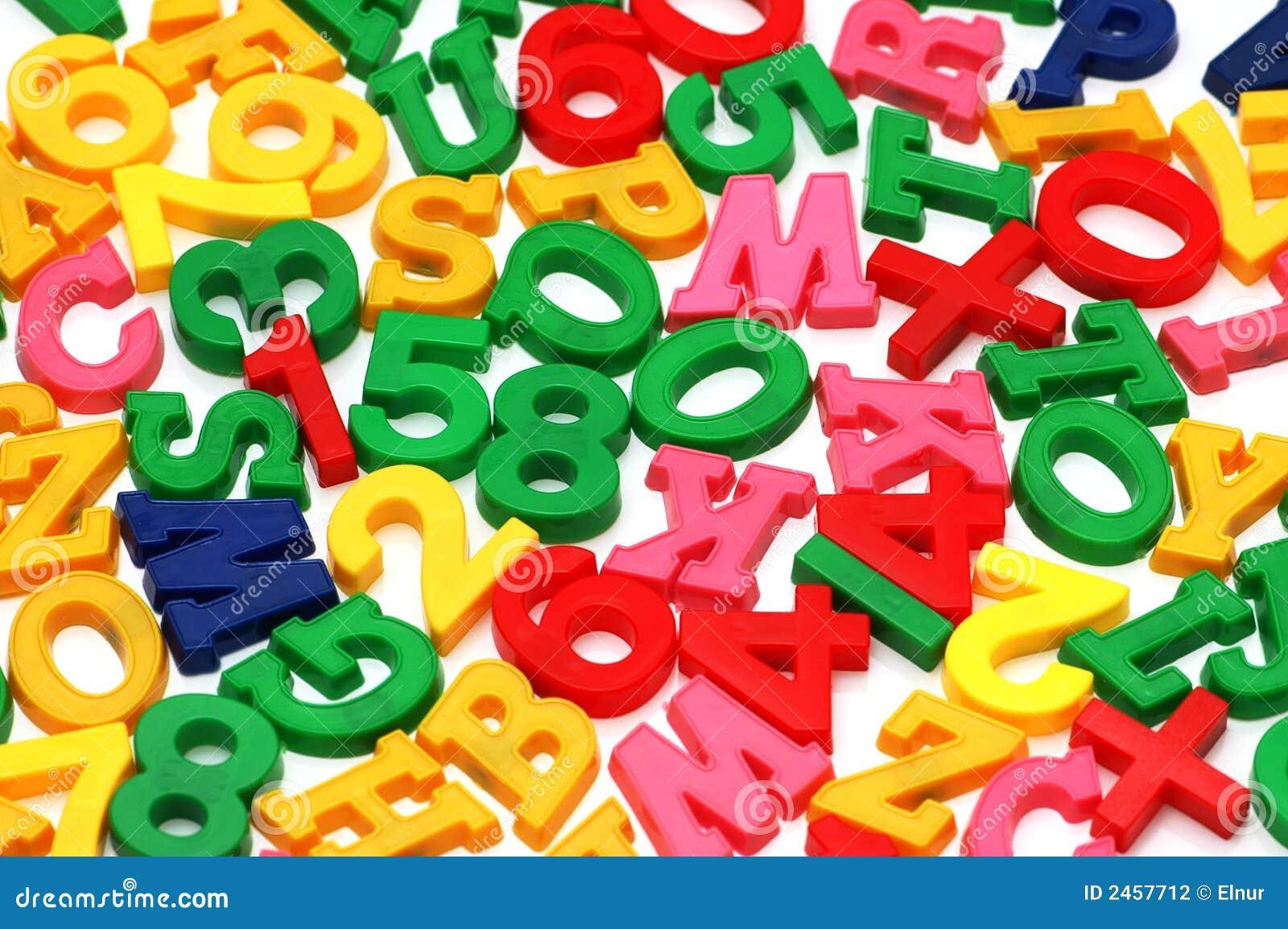 Vários letras e dígitos