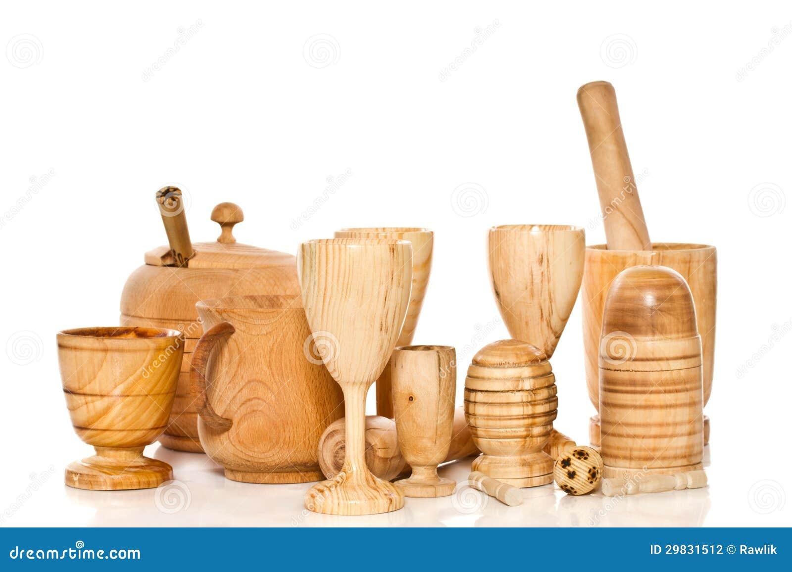 Mercadorias de madeira