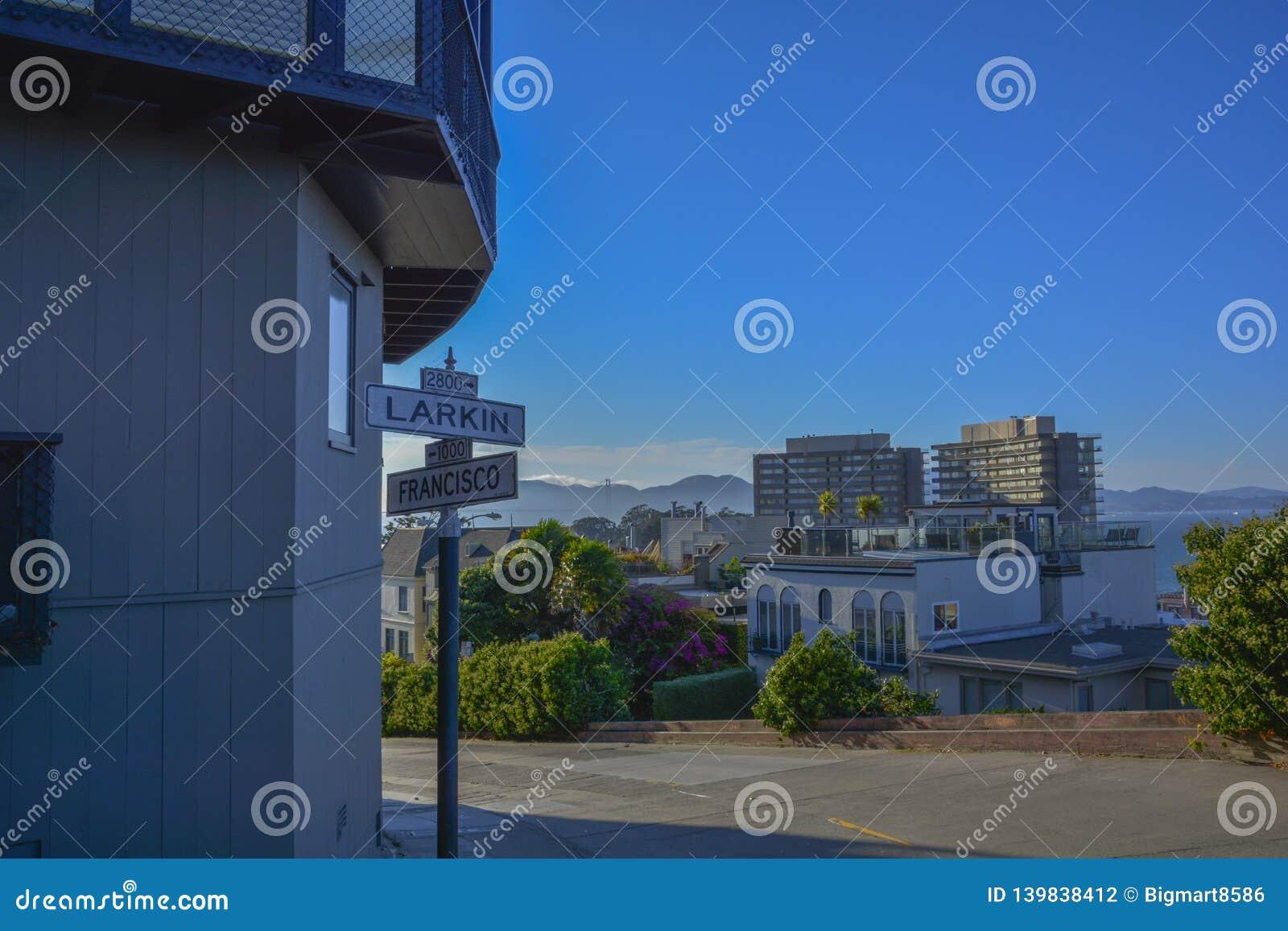 Väg för spårvagn för San Francisco stad järnväg