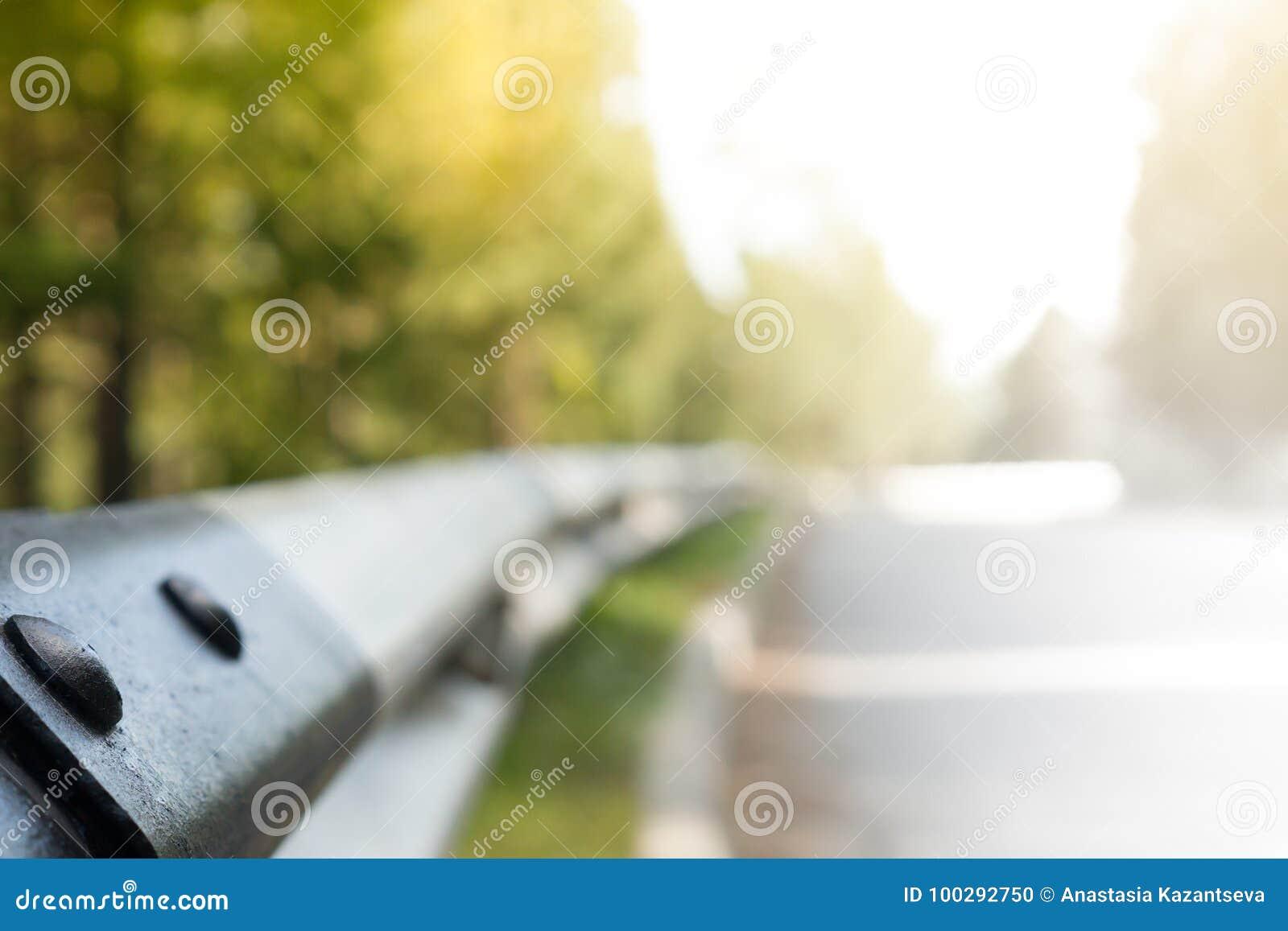 Väg och staket