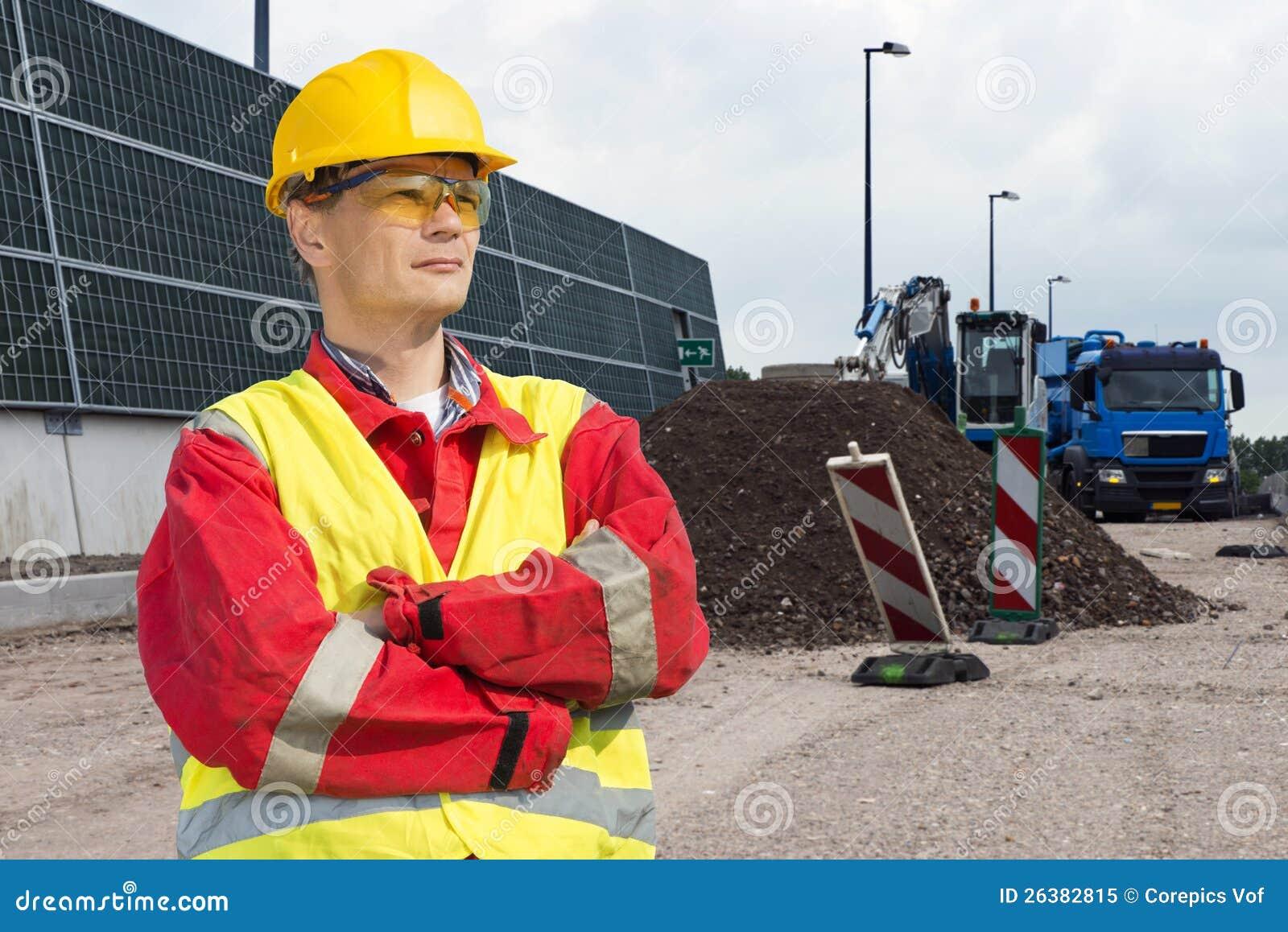 Vägbyggnadsarbetare